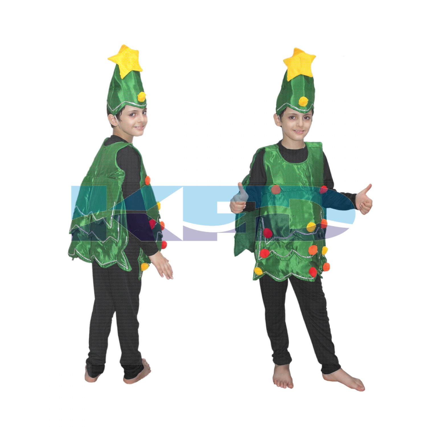Christmas Tree Boy Fancy Dress For Kids Christmas Day Costume For Annual Function Theme Party Competition Stage Shows Birthday Party Dress Miscellaneous