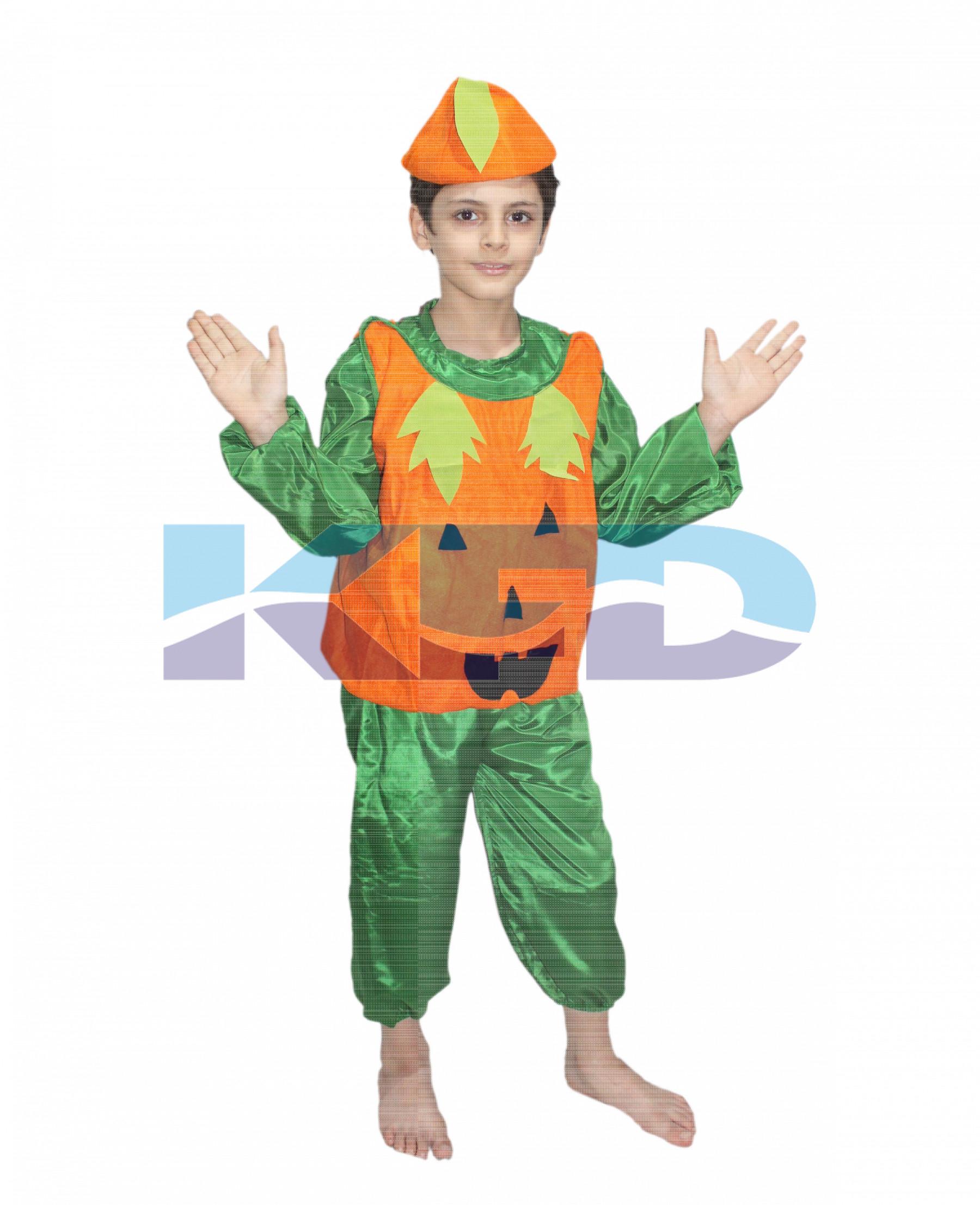 caf7734b605 Pumpkin fancy dress for kids,Vegetables Costume for School Annual ...