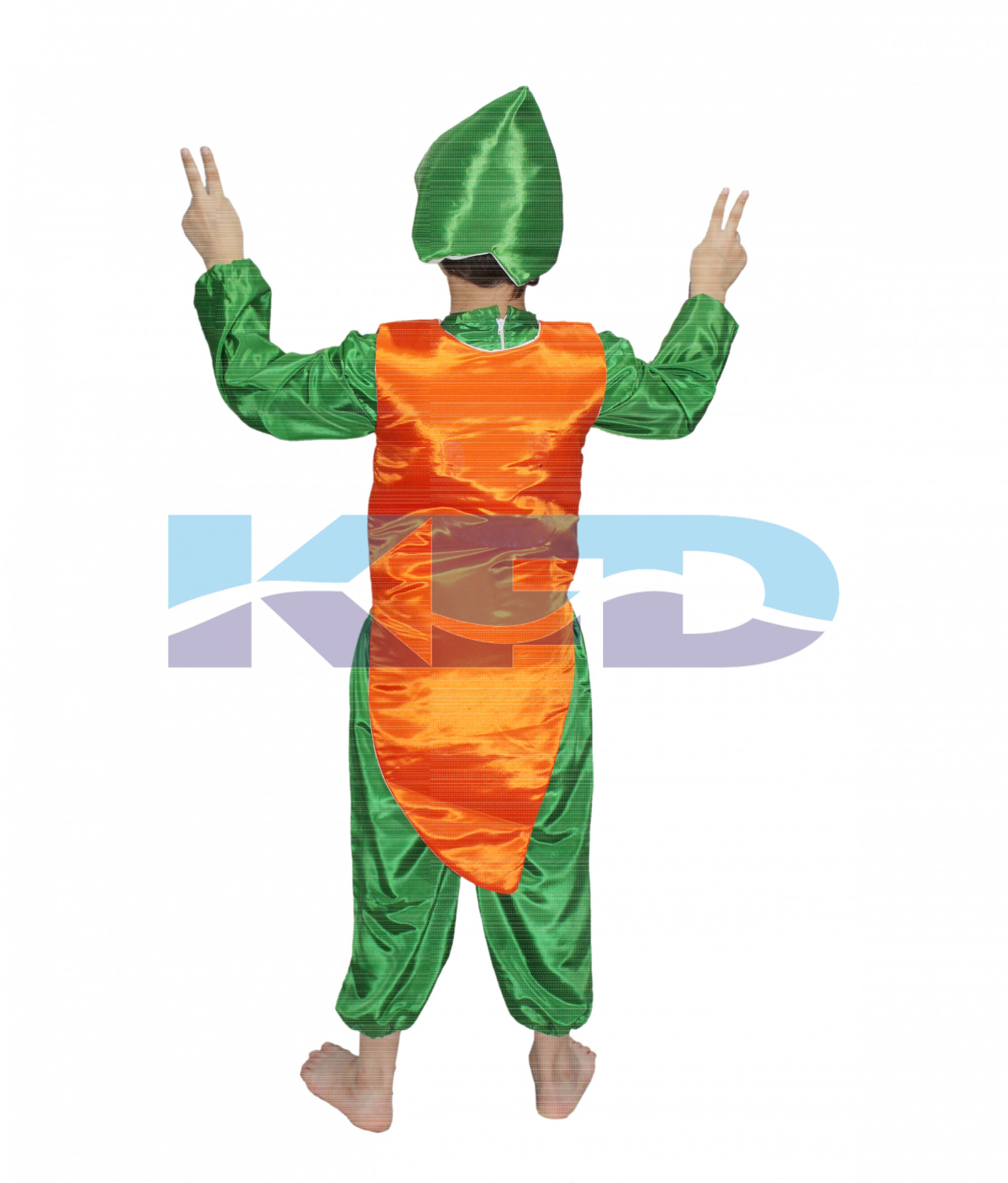 a20ca1c710db Carrot fancy dress for kids,Fruits Costume for School Annual ...