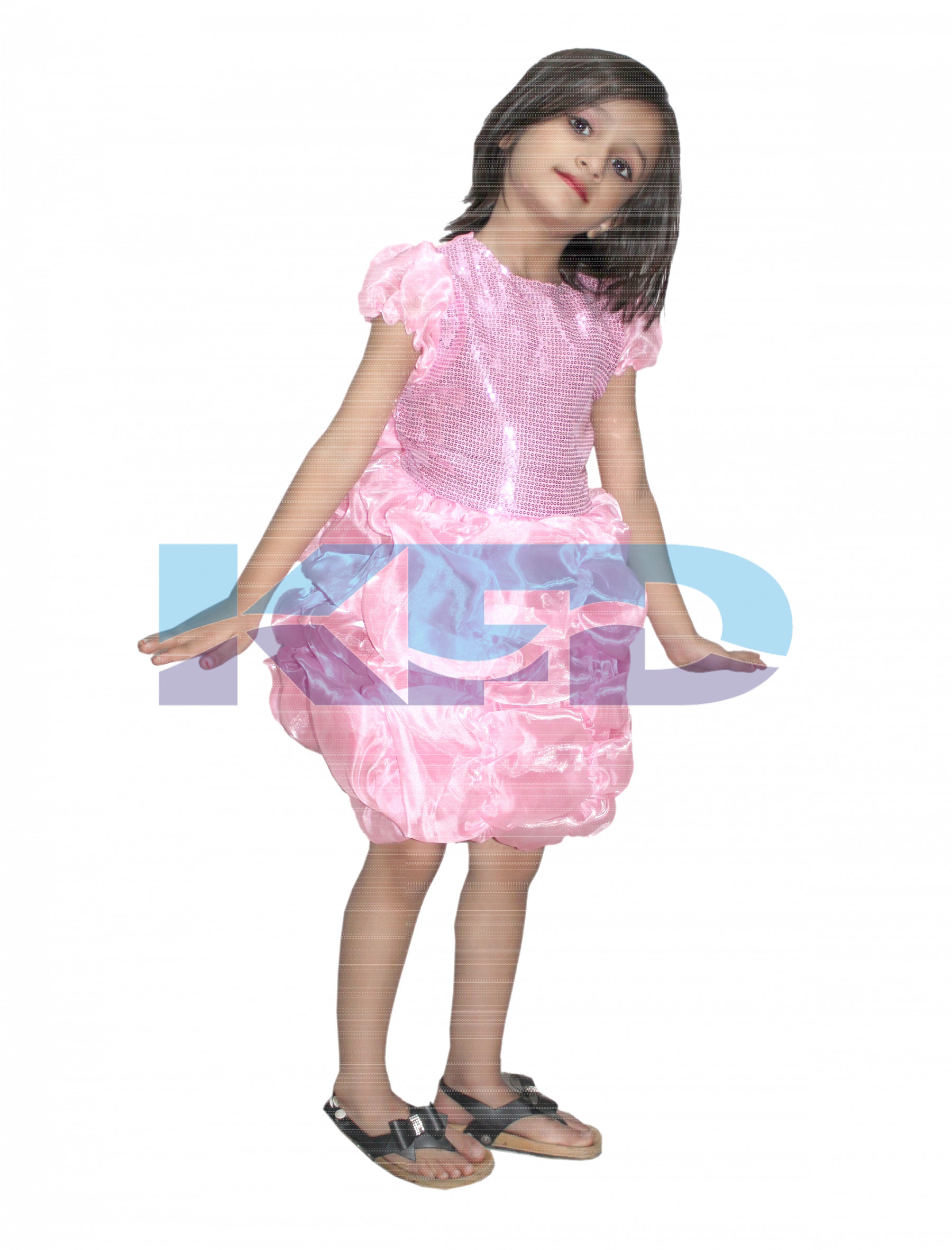 a748ff85 Barbie Girl fancy dress for kids,Fairy Teles Costume for Annual  function/Theme Party/Competition/Stage Shows/Birthday Party Dress