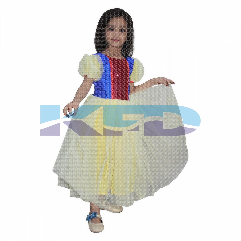 Snow White Fancy Dress for kids,Fairy Teles,Story Book Costume for