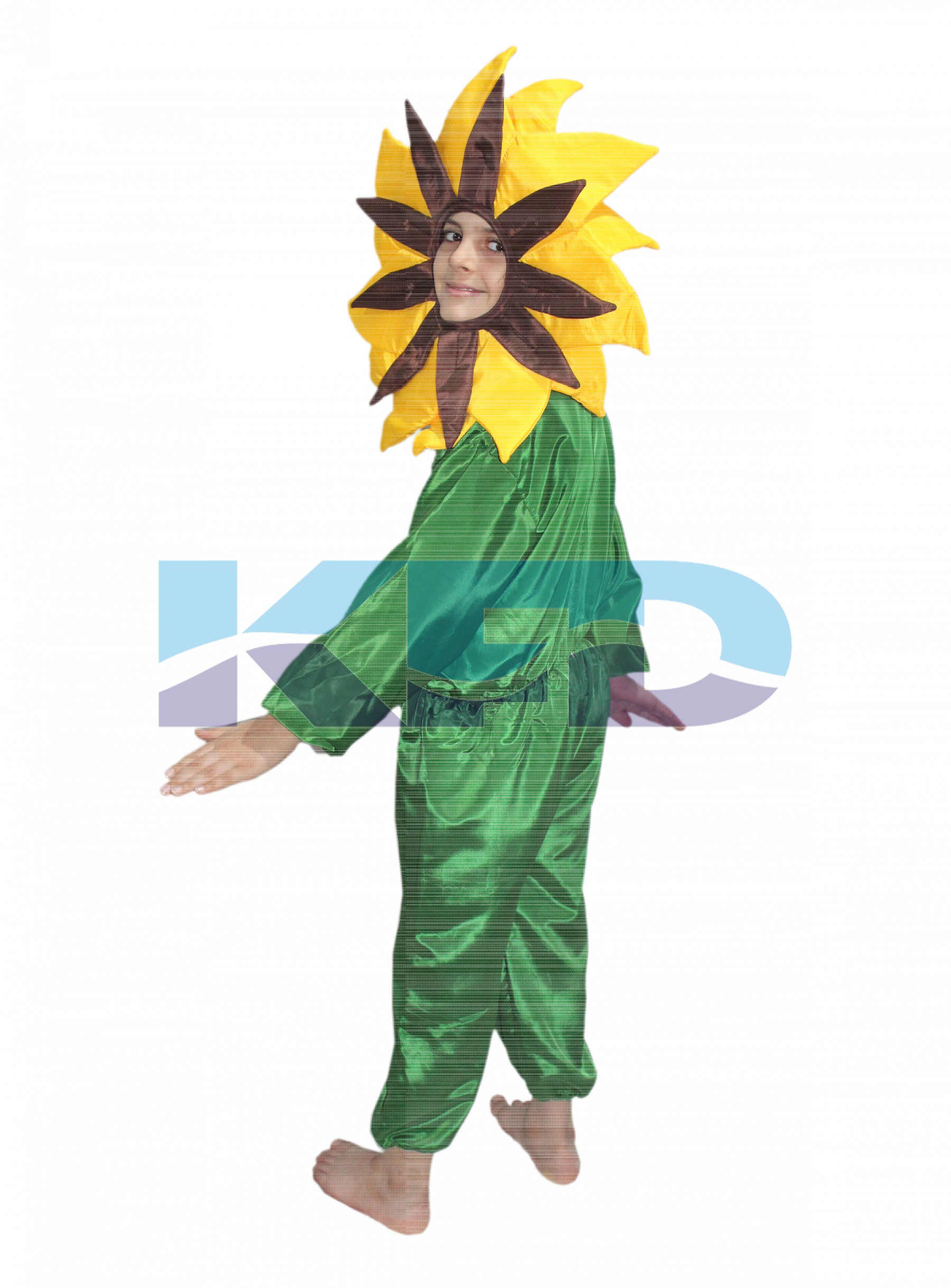 842bb052c More Views. Yellow flower fancy dress for kids,Nature Costume ...