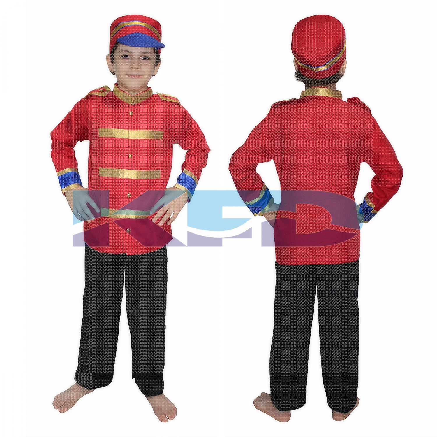 Mangal Panday/British soldier fancy dress for kids,National Hero Costume for School Annual function/Theme Party/Competition/Stage Shows Dress