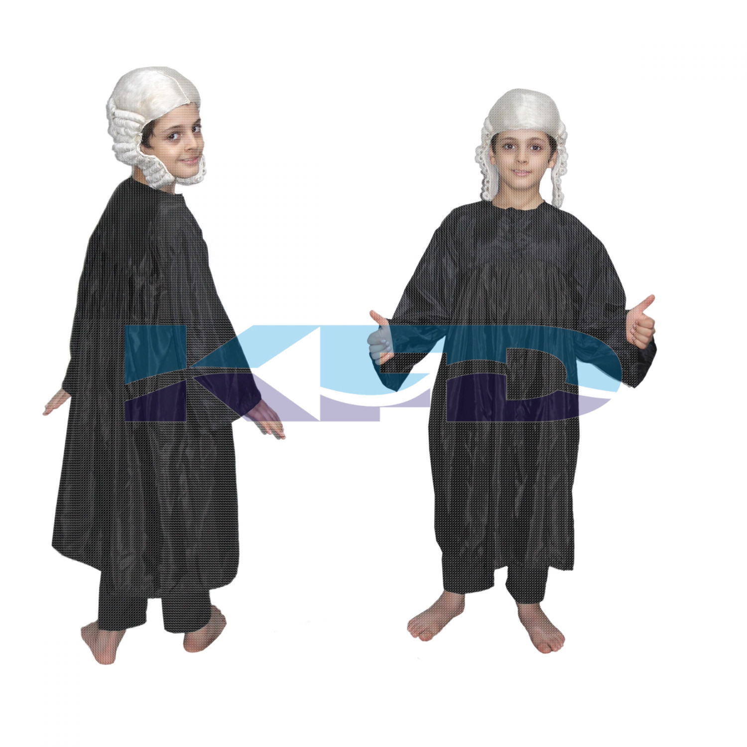 Judge Fancy Dress For Kids,Our Helper Costume For Annual Function/Theme Party/Competition/Stage Shows Dress