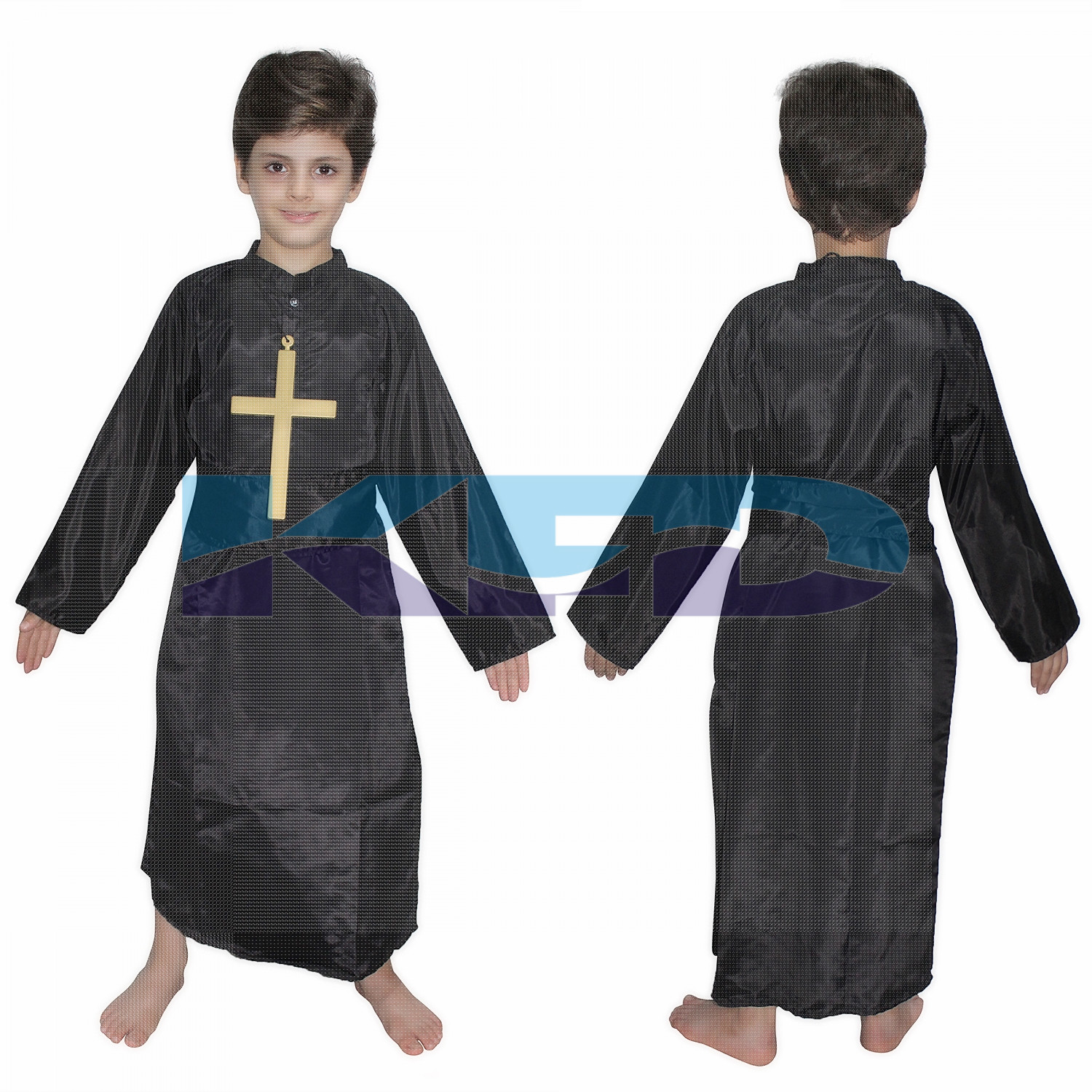Priest fancy dress for kids,Catholic Costume for Annual function/Theme Party/Competition/Stage Shows/Birthday Party Dress