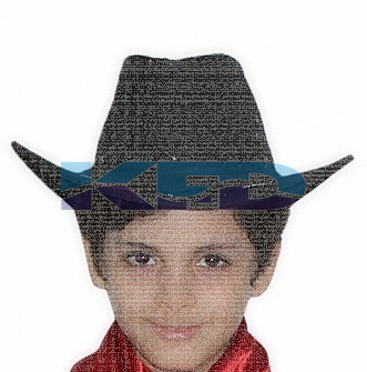 Cow Boy Hat For School Annual function/Theme Party/Competition/Stage Shows/Birthday Party Dress