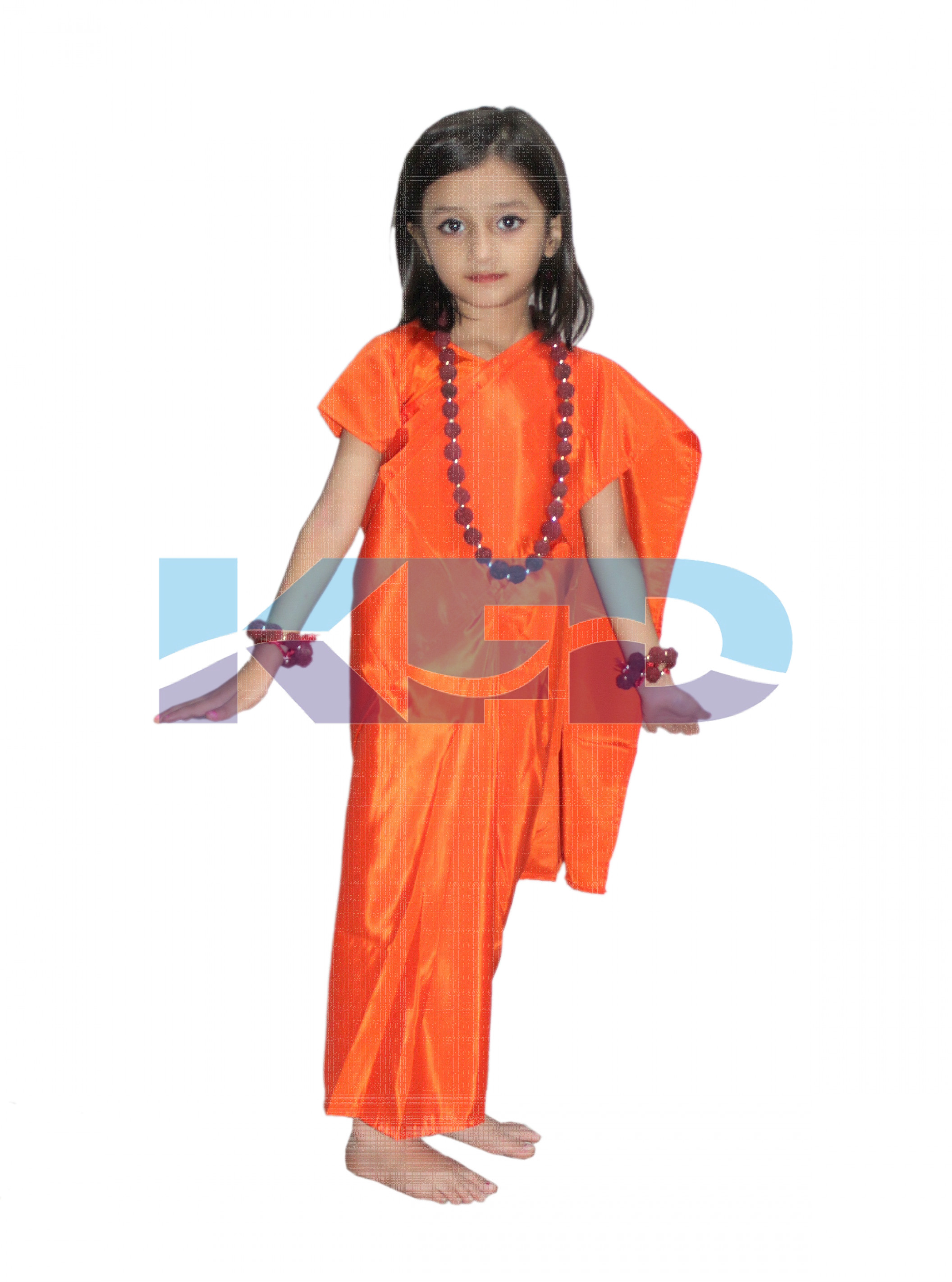 Vanvasi Seeta fancy dress for kids,Ramleela/Dussehra/Mythological Character for Annual function/Theme Party/Competition/Stage Shows Dress