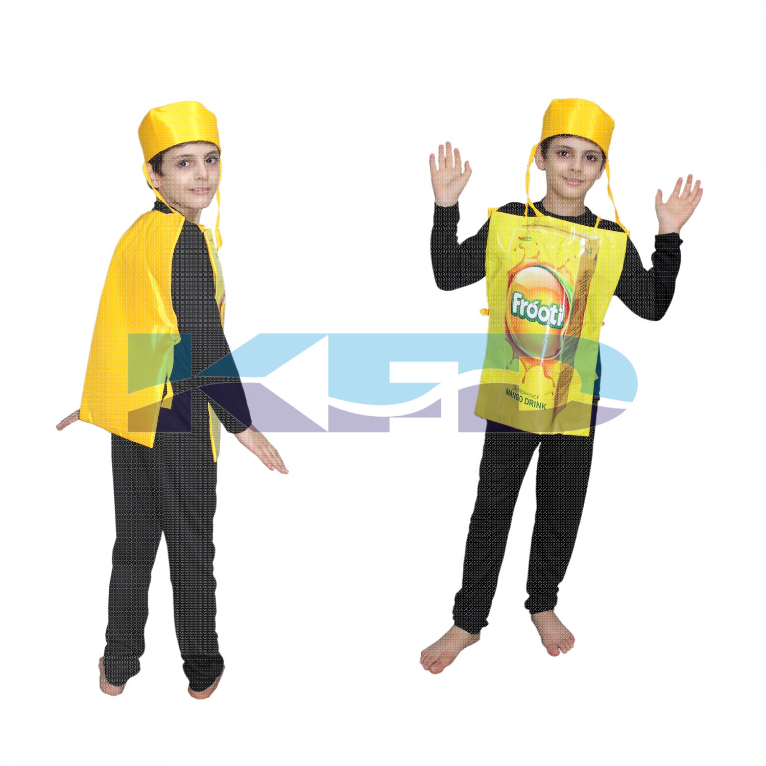 Frooti fancy dress for kids,Object Costume for School Annual function/Theme Party/Competition/Stage Shows Dress
