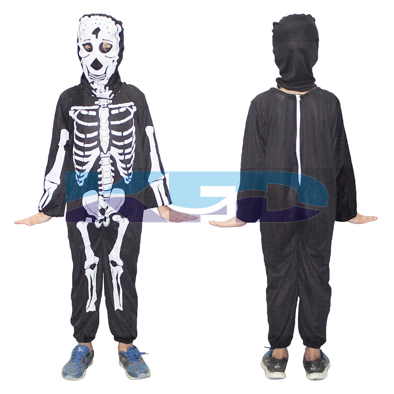 Skeleton fancy dress for kids,Halloween Costume for School Annual function/Theme Party/Competition/Stage Shows Dress