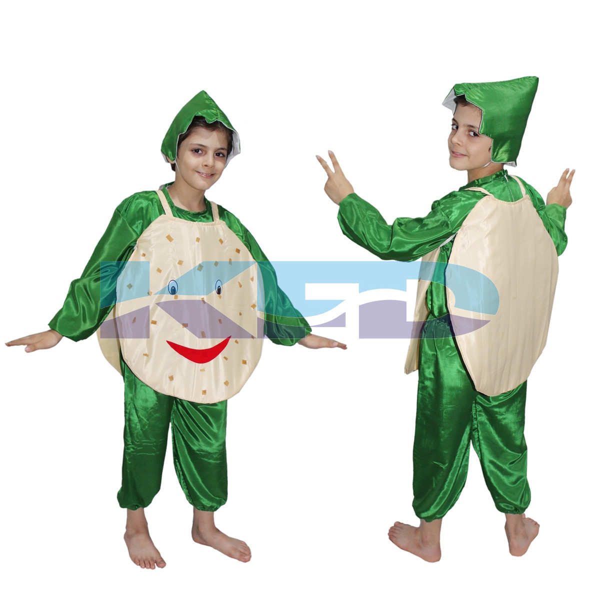 Potato fancy dress for kids,Vegetables Costume for School Annual function/Theme Party/Competition/Stage Shows Dress