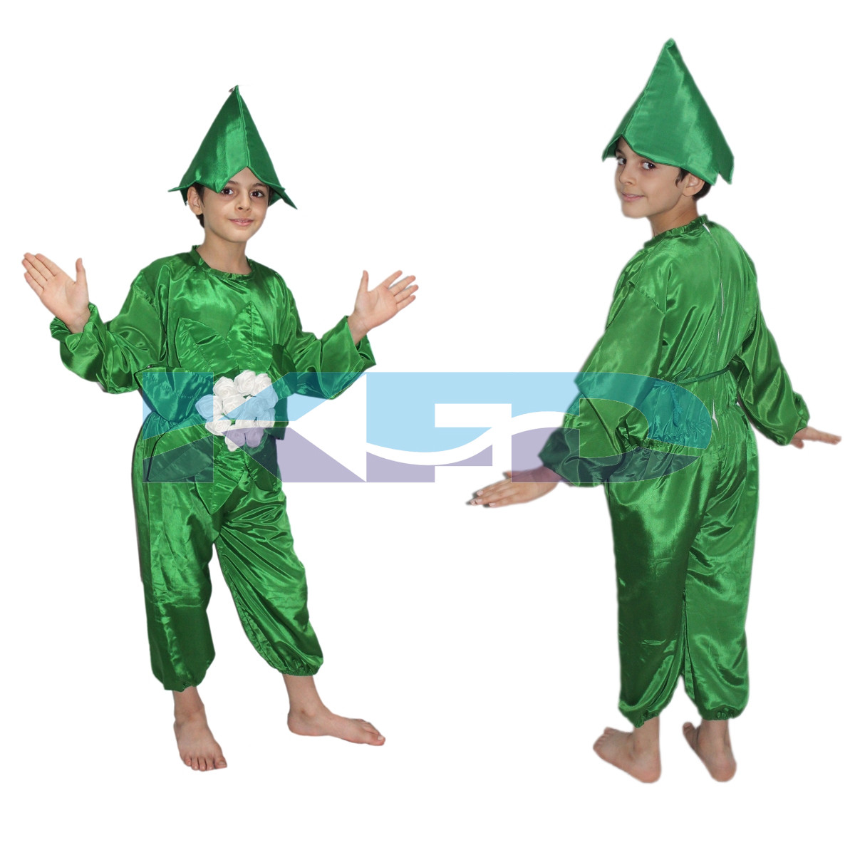 Cauliflower fancy dress for kids,Vegetables Costume for School Annual function/Theme Party/Competition/Stage Shows Dress