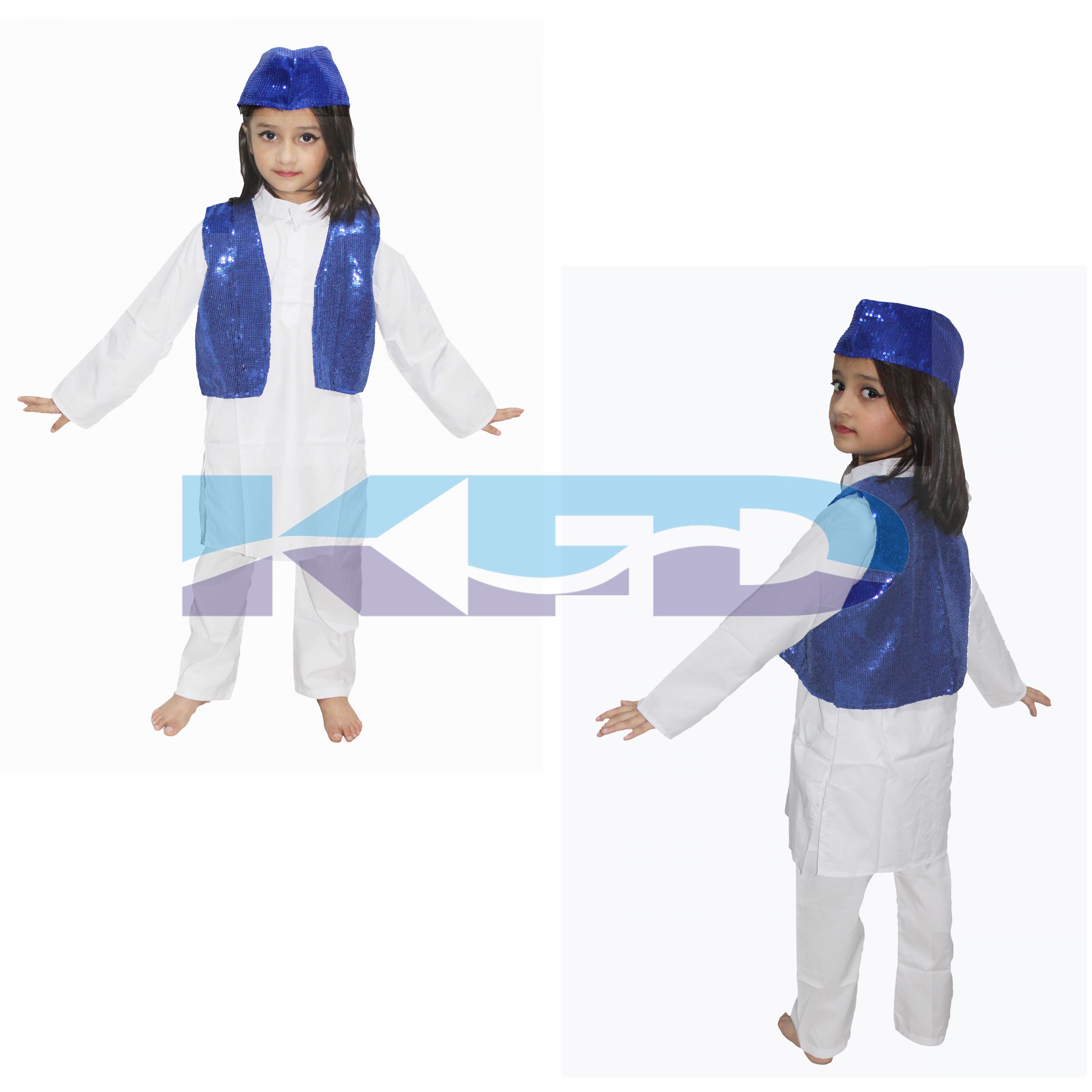 Qawwali Jacket Blue