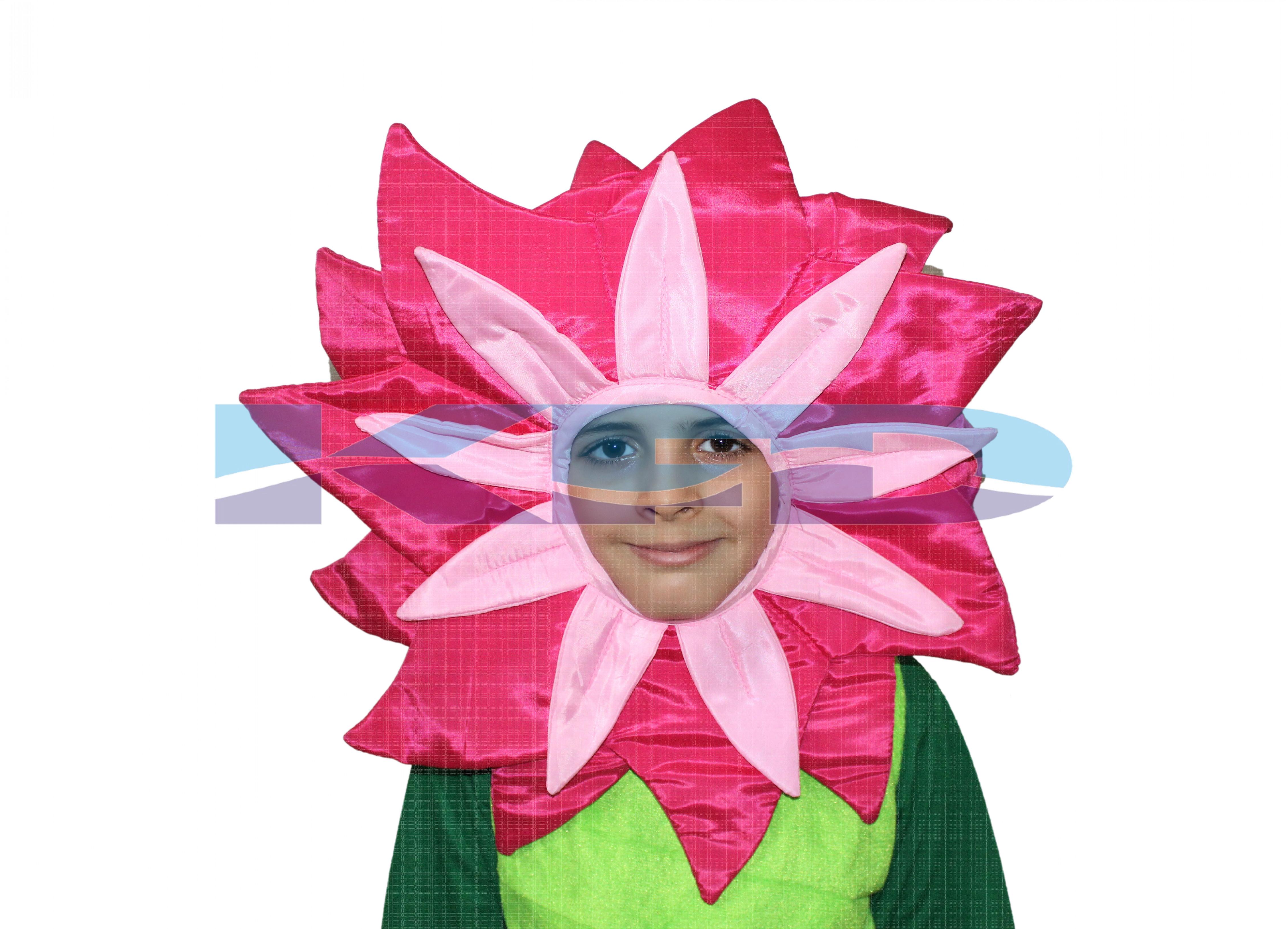 Magenta Flower Face