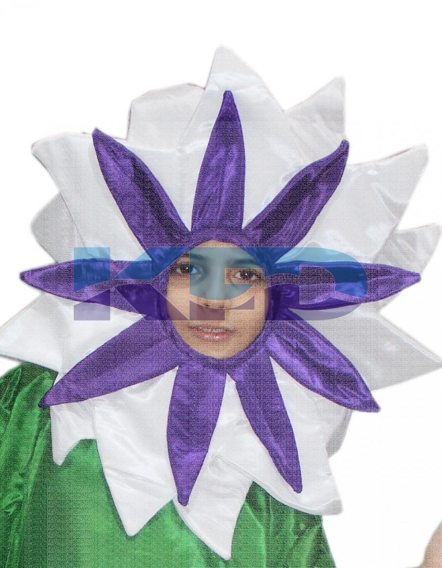White Flower Face