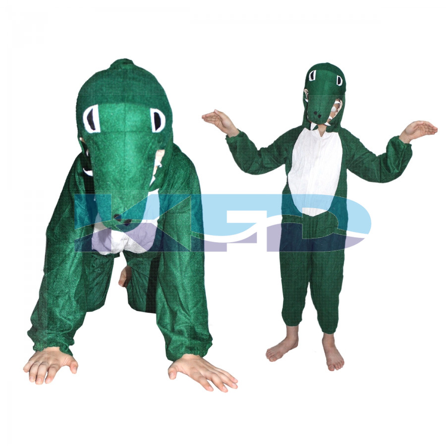 Crocodile fancy dress for kids,Water Animal Costume for Annual function/Theme Party/Competition/Stage Shows Dress