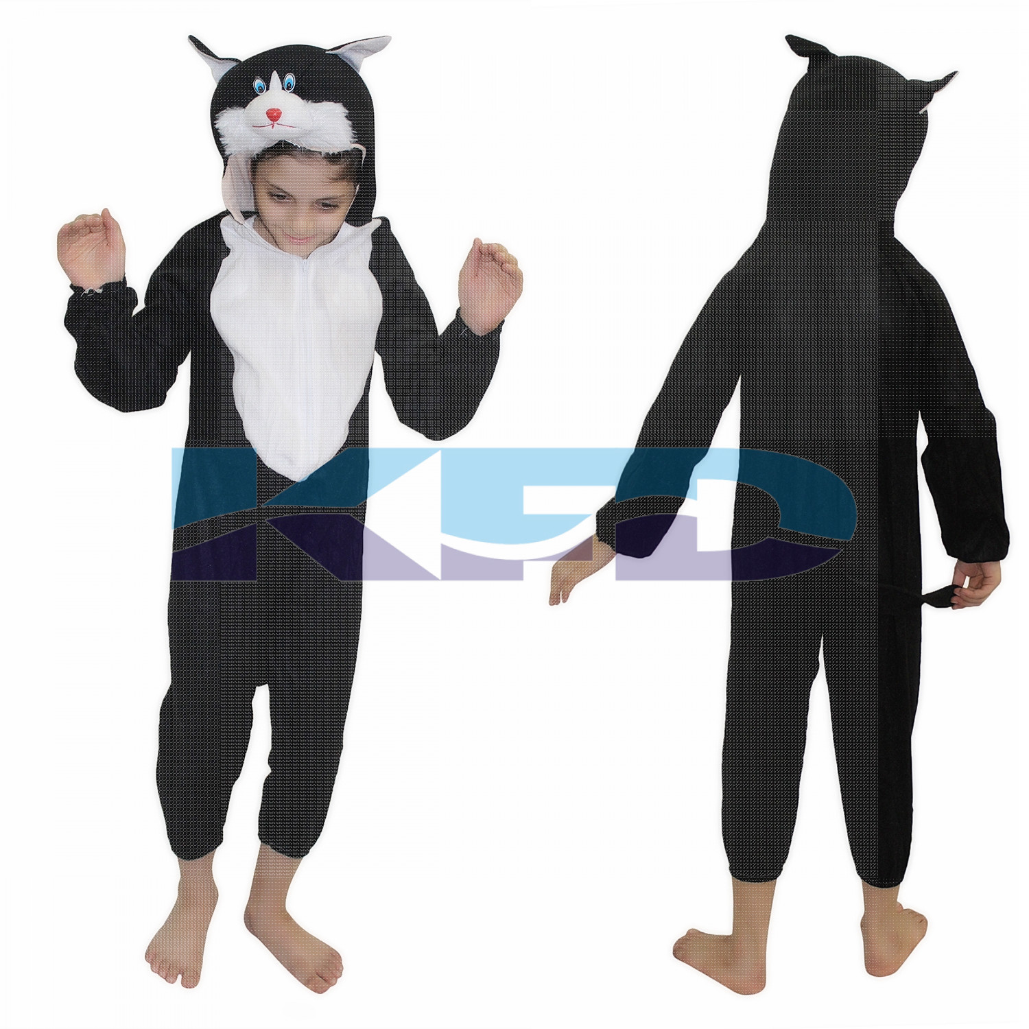 Cat fancy dress for kids,Pet Animal Costume for School Annual function/Theme Party/Competition/Stage Shows Dress