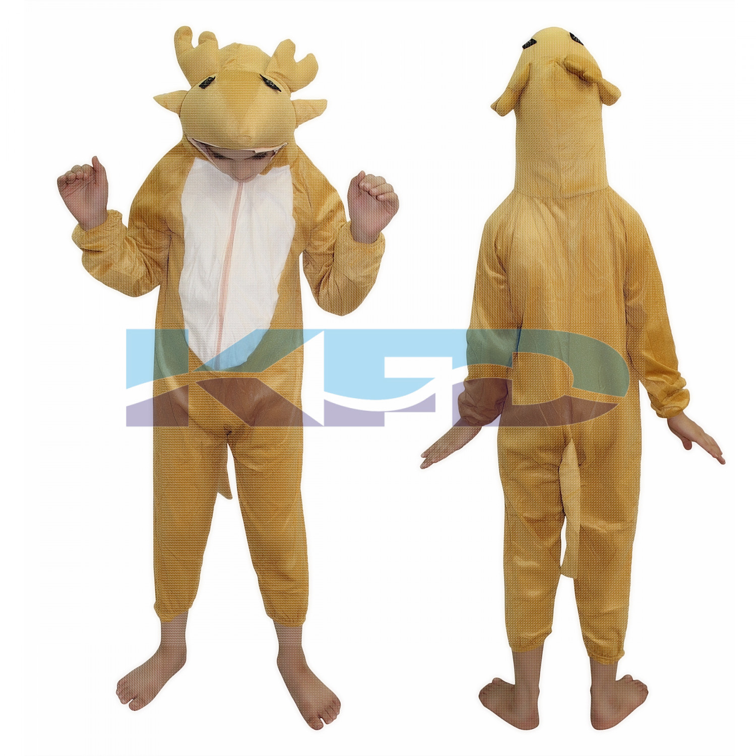 Deer fancy dress for kids,Wild Animal Costume for School Annual function/Theme Party/Competition/Stage Shows  Dress