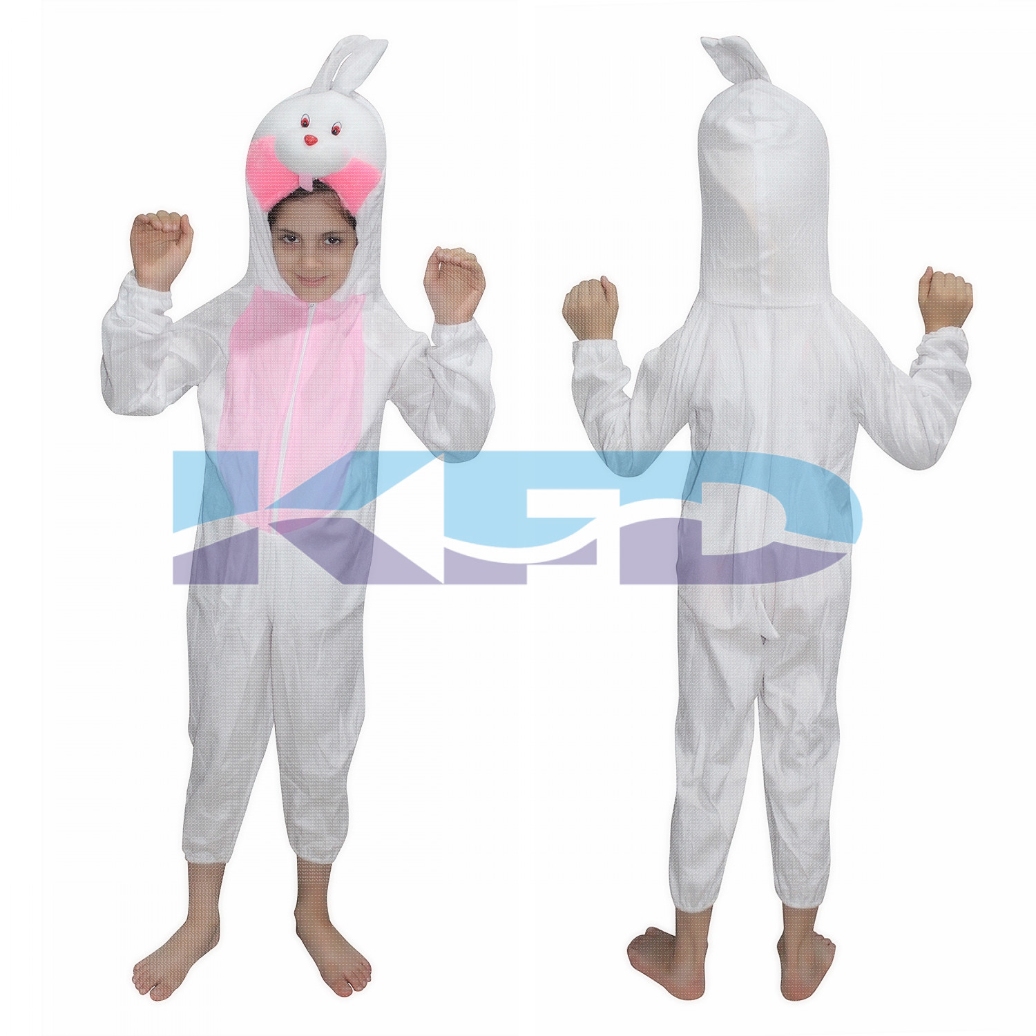 Rabbit fancy dress for kids,Pet Animal Costume for School Annual function/Theme Party/Competition/Stage Shows Dress