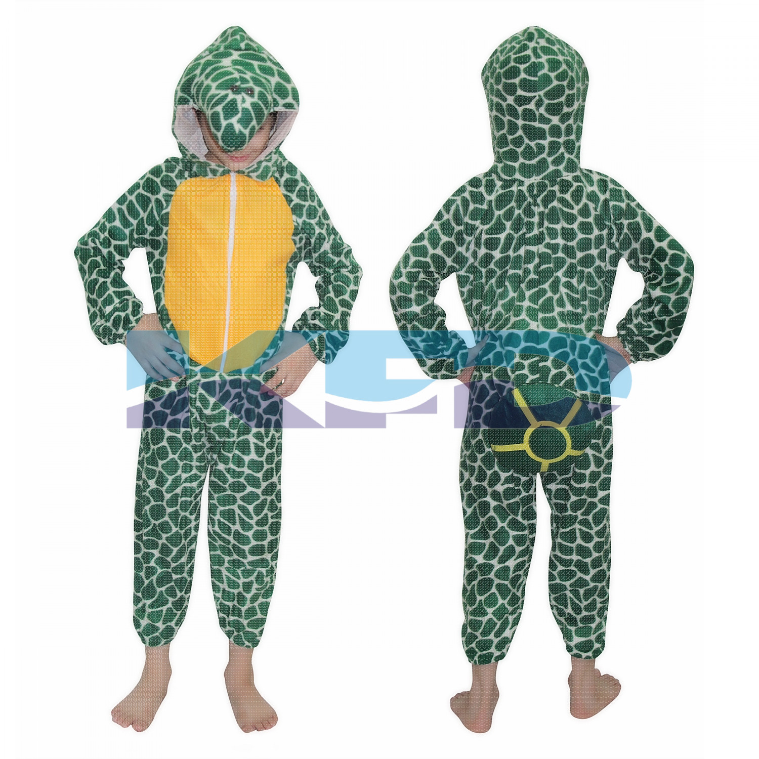 Tortoise fancy dress for kids,Water Animal Costume for School Annual function/Theme Party/Competition/Stage Shows Dress
