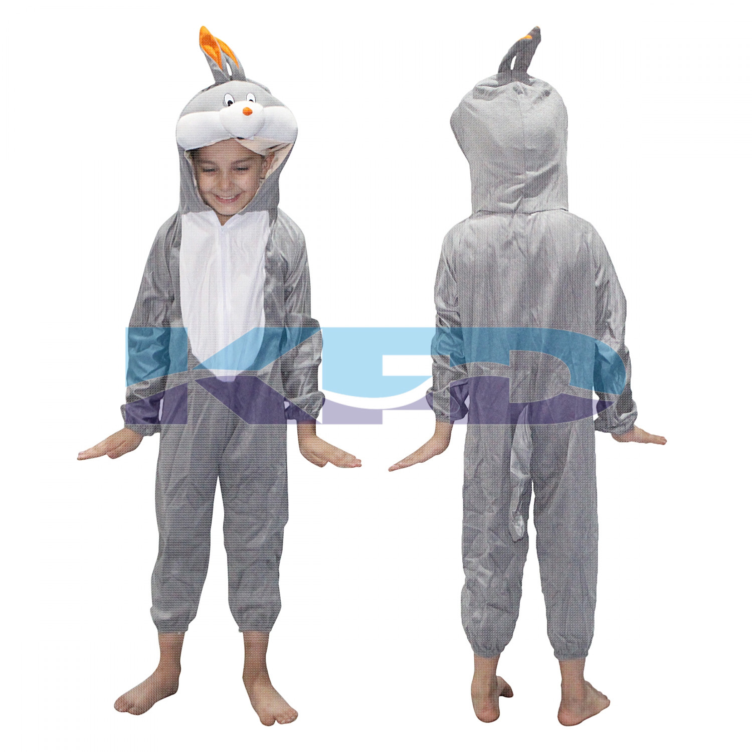 Bugs Bunny Fancy dress for kids,Diseny Cartoon Costume for Annual function/Theme Party/Stage Shows/Competition/Birthday Party Dress