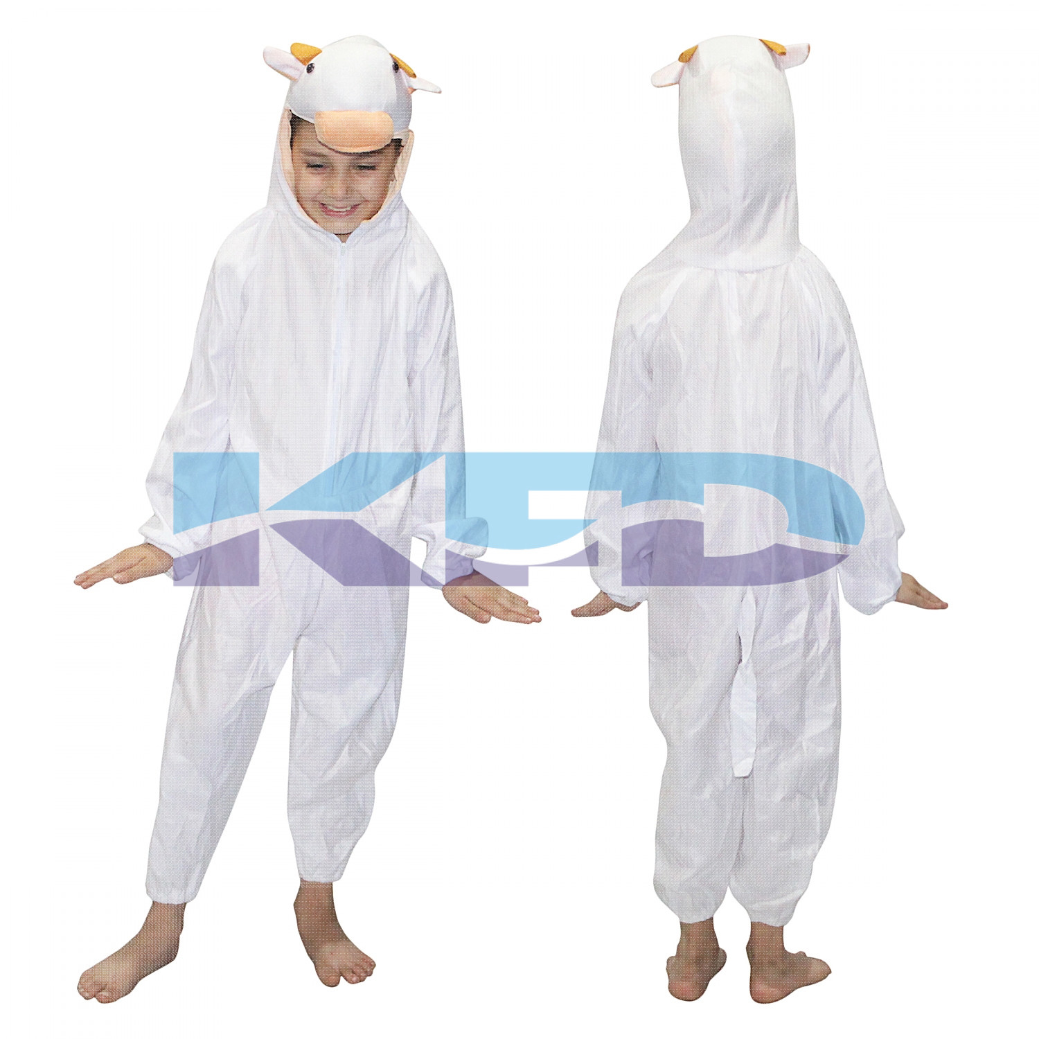 Calf fancy dress for kids,Wild Animal Costume for School Annual function/Theme Party/Competition/Stage Shows Dress
