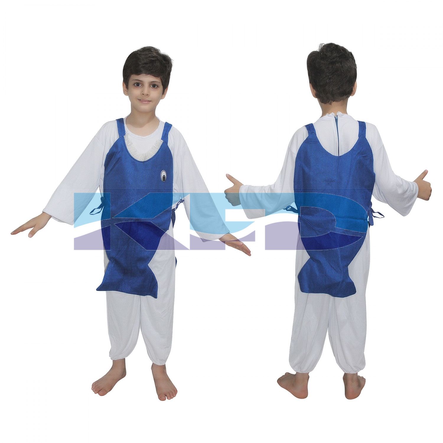 Shark Fish fancy dress for kids,Insect Costume for School Annual function/Theme Party/Competition/Stage Shows Dress