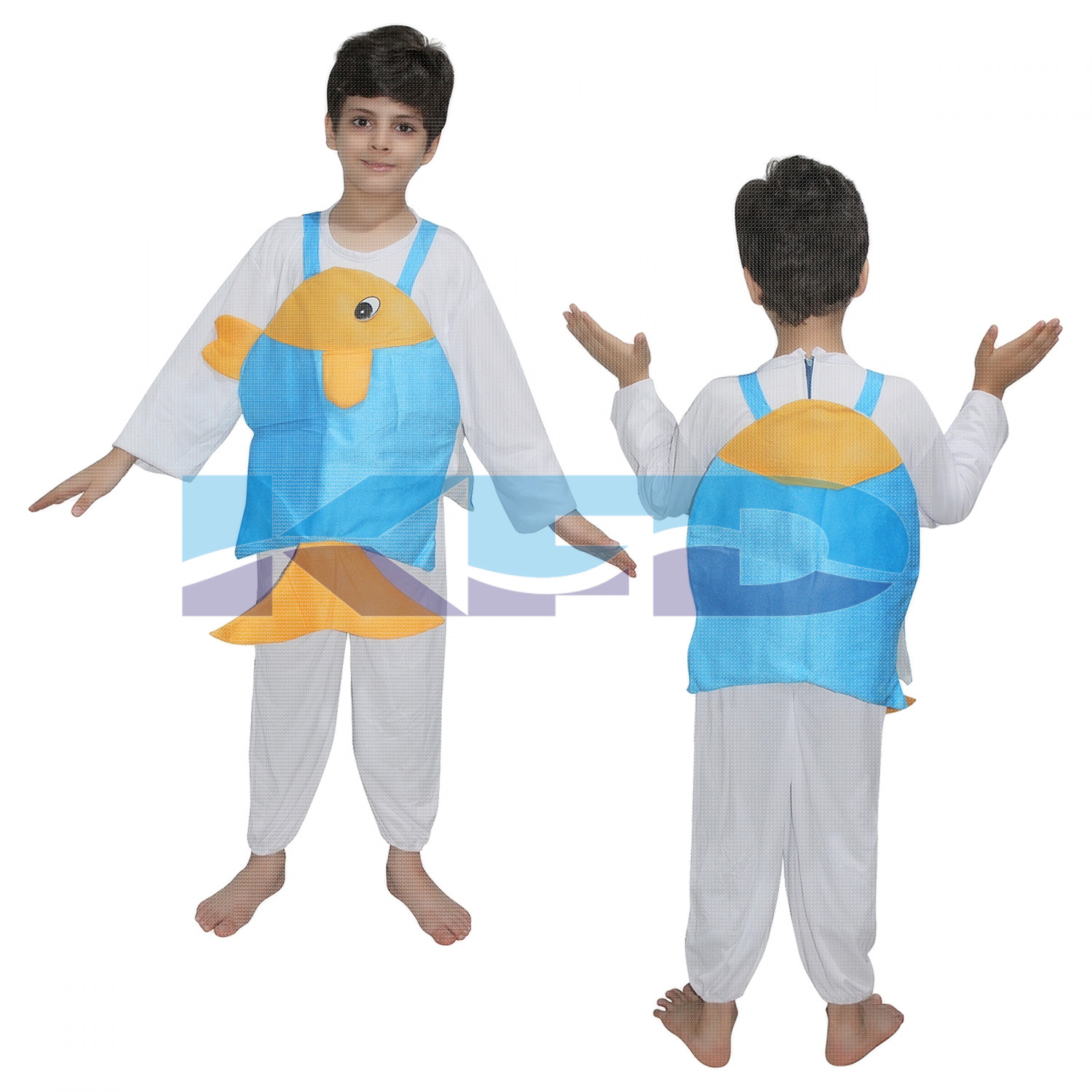 Dori Fish fancy dress for kids,Insect Costume for School Annual function/Theme Party/Competition/Stage Shows Dress