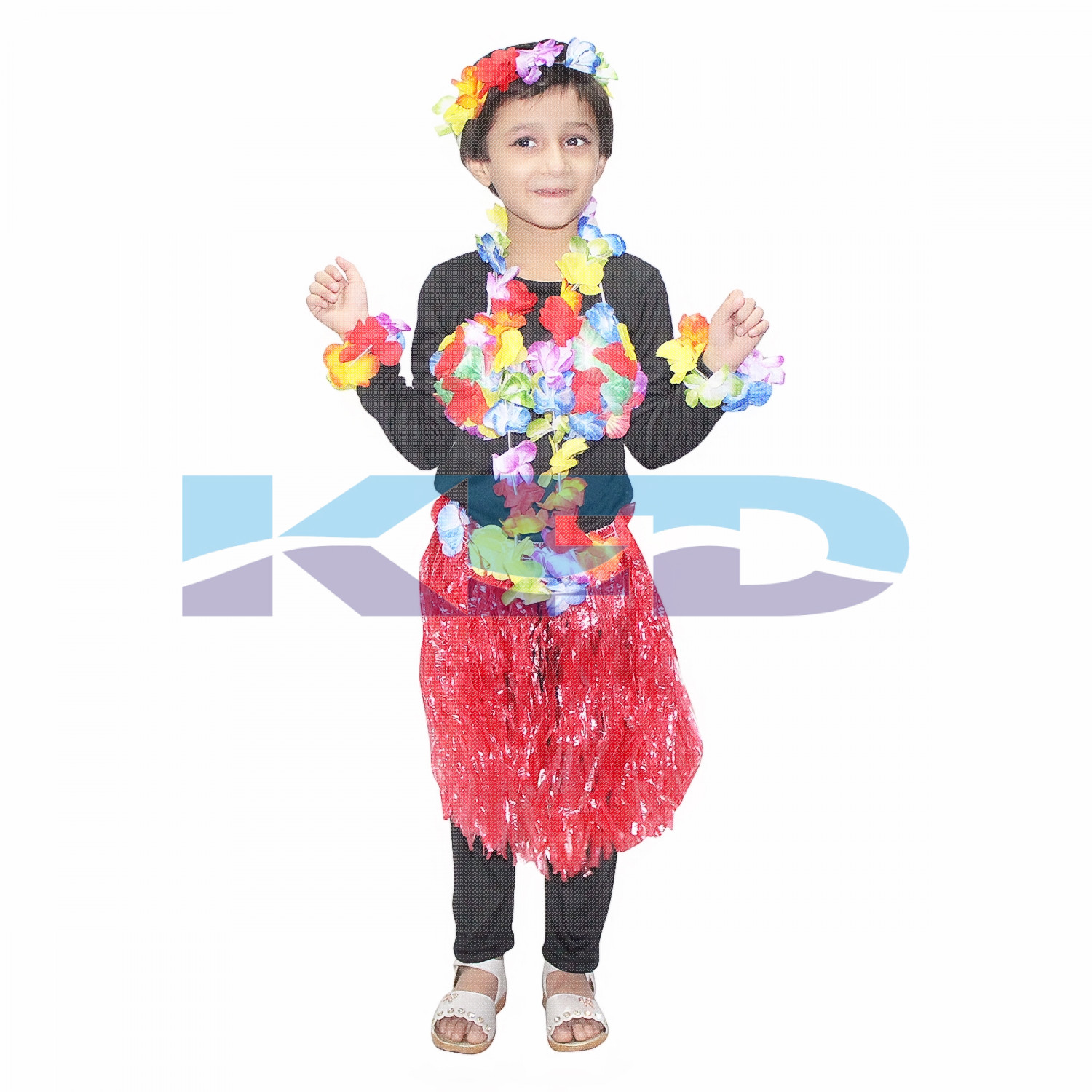 Hawayan Dress fancy dress for kids,Indian State Traditional Wear for Annual function/Theme Party/Competition/Stage Shows Dress