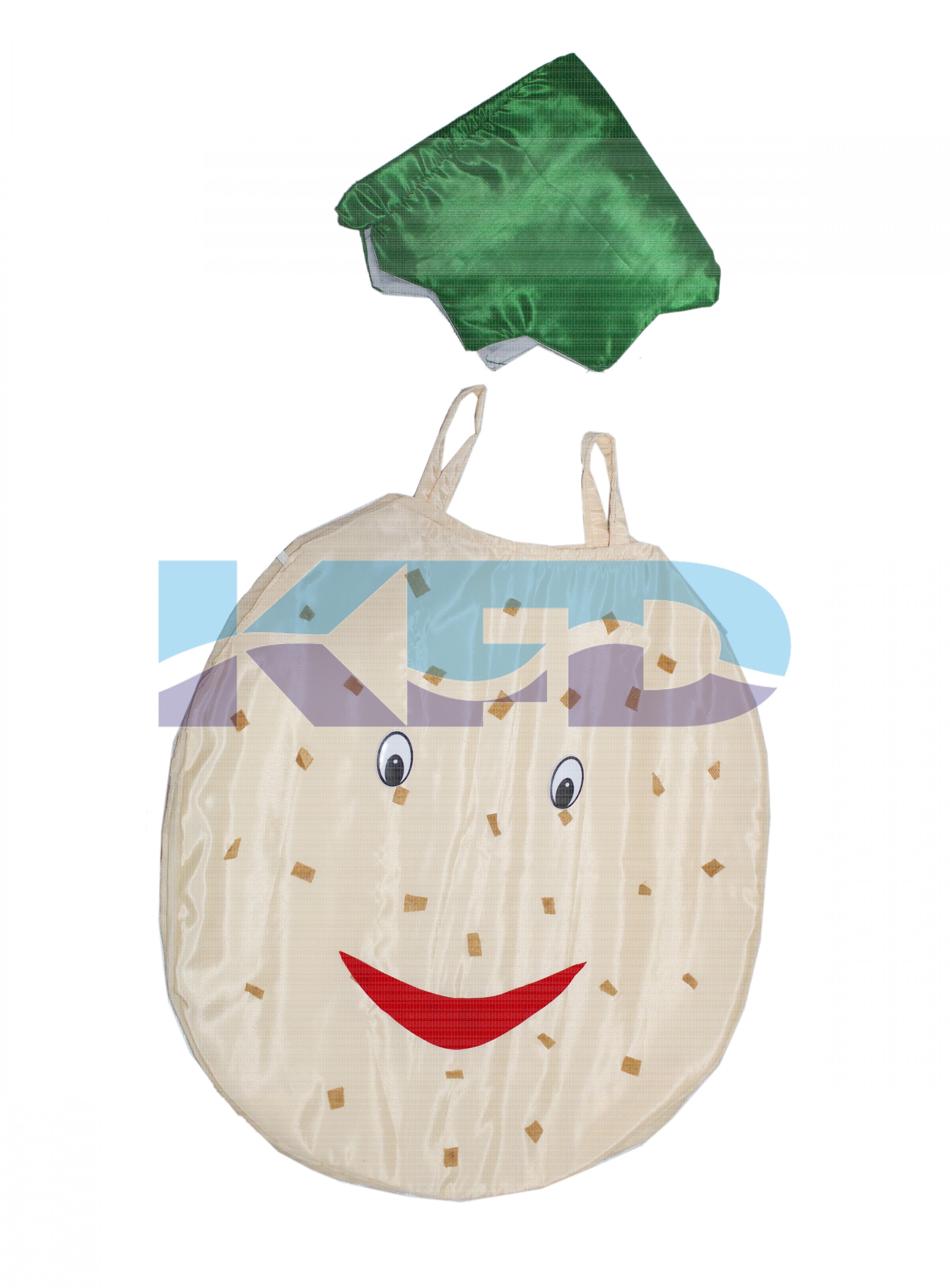 Potato Vegetables Costume only cutout with Cap for Annual function/Theme Party/Competition/Stage Shows/Birthday Party Dress