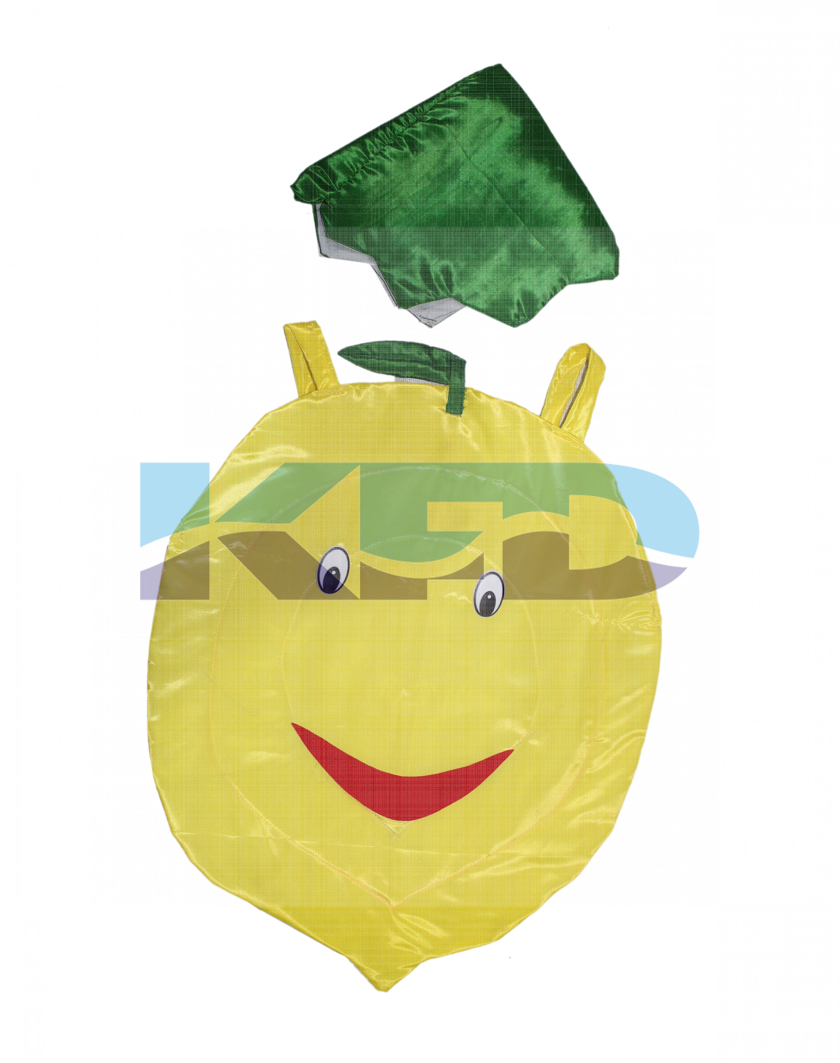 Lemon Vegetables Costume only cutout with Cap for Annual function/Theme Party/Competition/Stage Shows/Birthday Party Dress