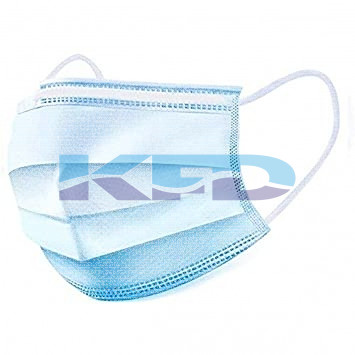 Face Mask Blue Accessories