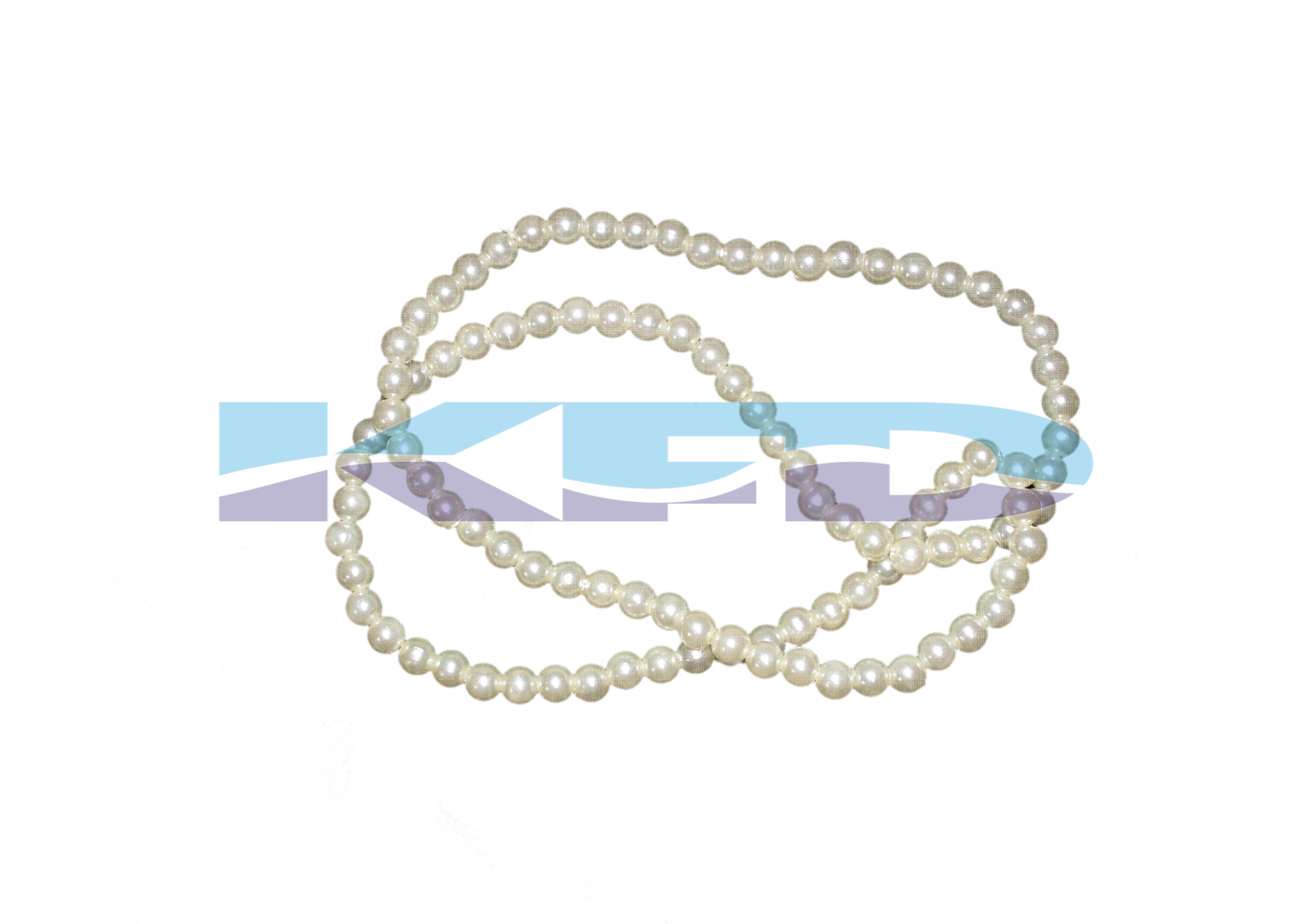 Pearl Moti Mala White Color For Mythological Character/Janmashtami/Dussehra/Diwali/School annual function
