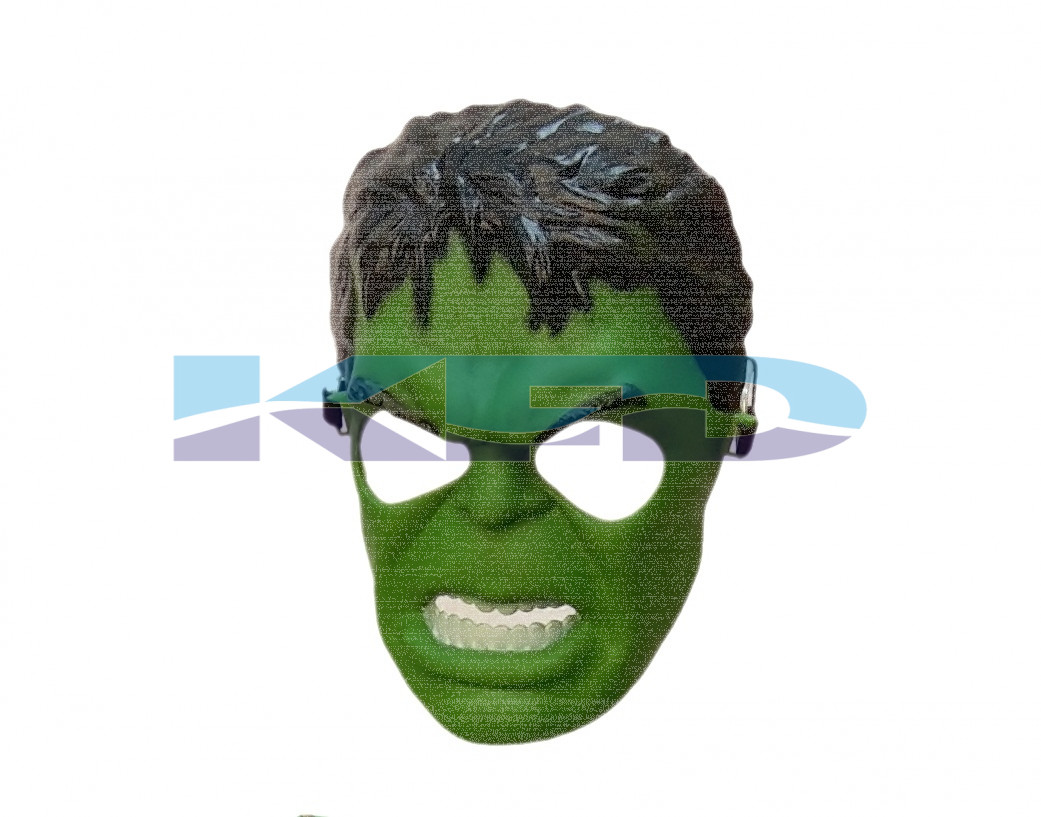 Hulk Face CosPlay Costume/Super Hero Face/School Annual function/Theme Party/Competition/Stage Shows/Birthday Party Dress