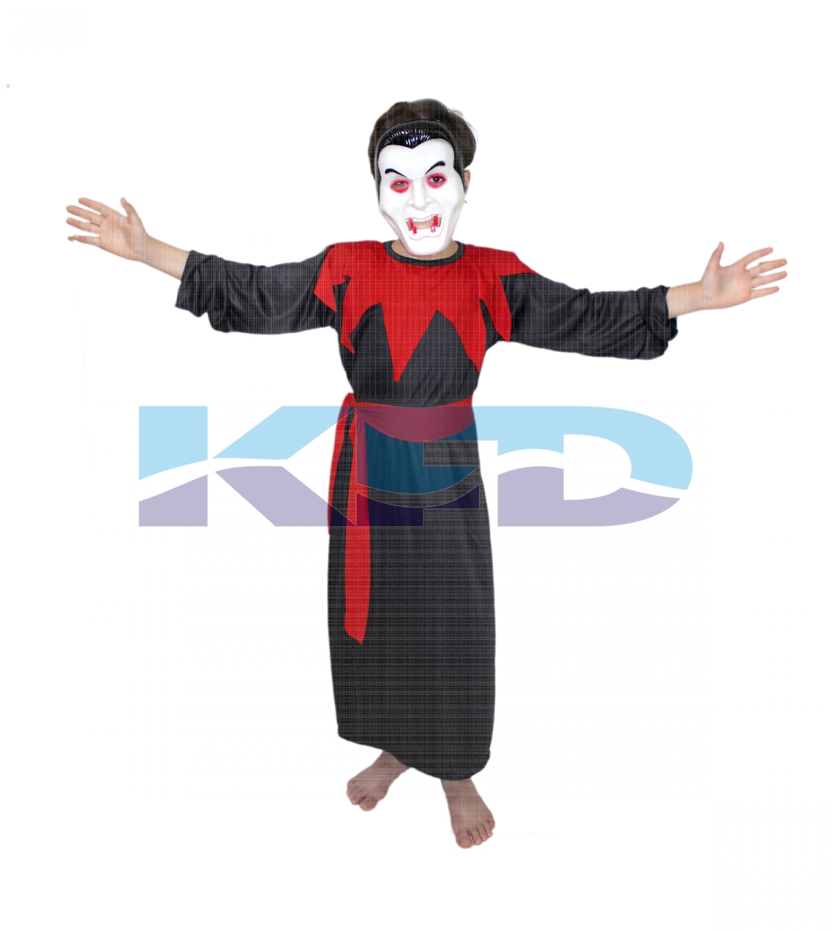 Vampire Dracula Gown Halloween Costume/California Costume For School Annual function/Theme Party/Competition/Stage Shows/Birthday Party Dress