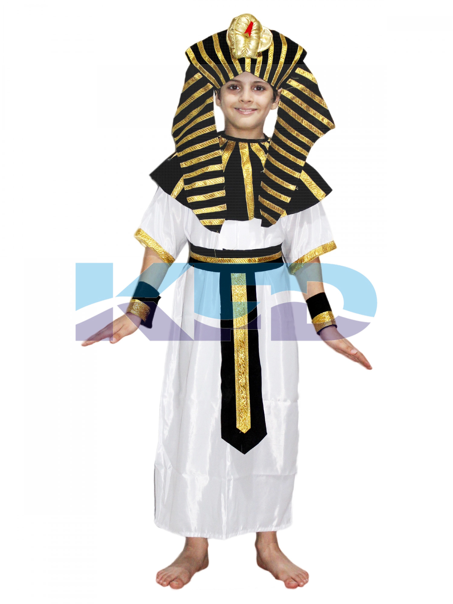 Egyptian Boy Costume Of International Traditional Wear For School Annual function/Theme Party/Competition/Stage Shows/Birthday Party Dress