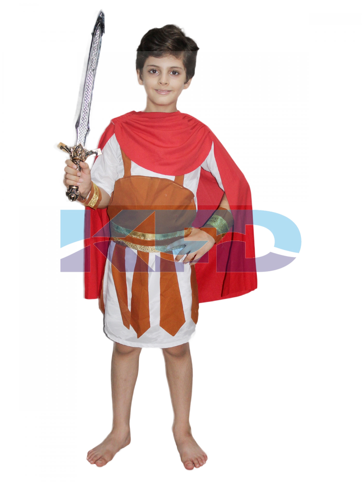 Roman Soldier Costume Of International Traditional Wear For School Annual function/Egyptian dress/Theme Party/Competition/Stage Shows/Birthday Party Dress
