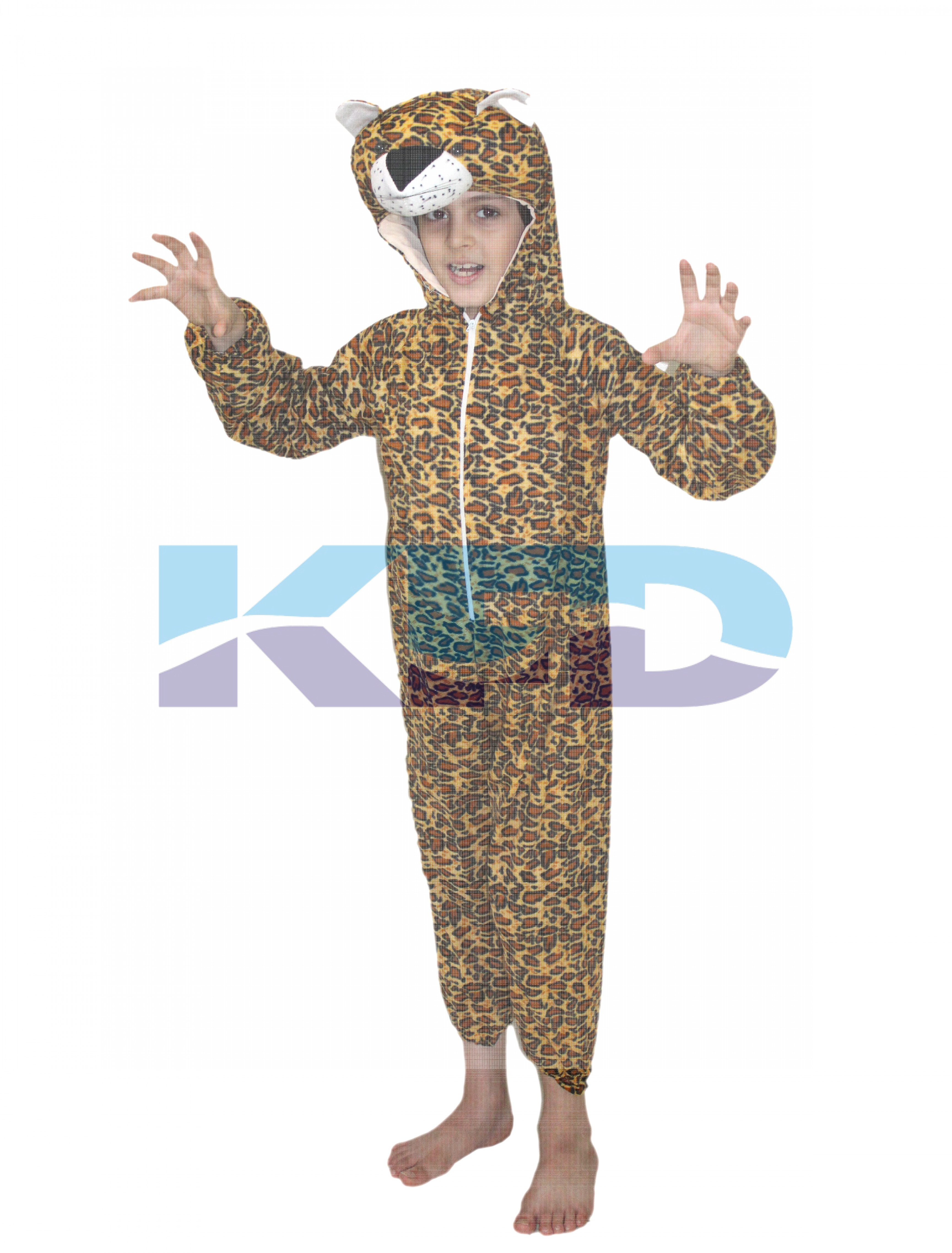 Leopard Animal Costume For School Annual function/Theme Party/Competition/Stage Shows/Birthday Party Dress