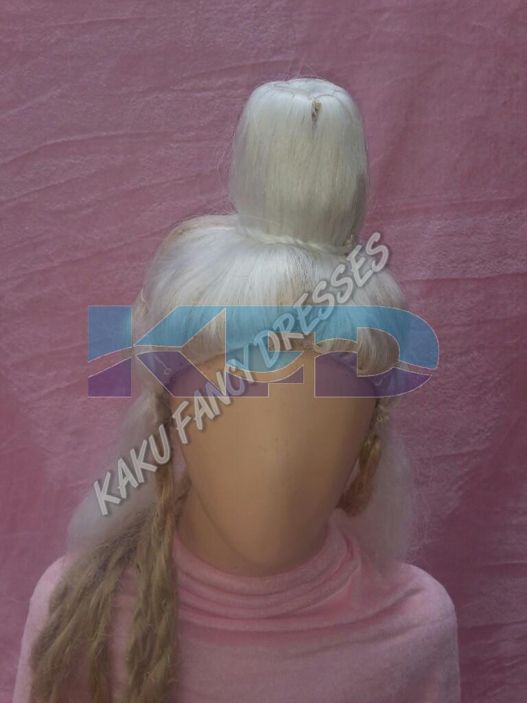 White Joda Wig
