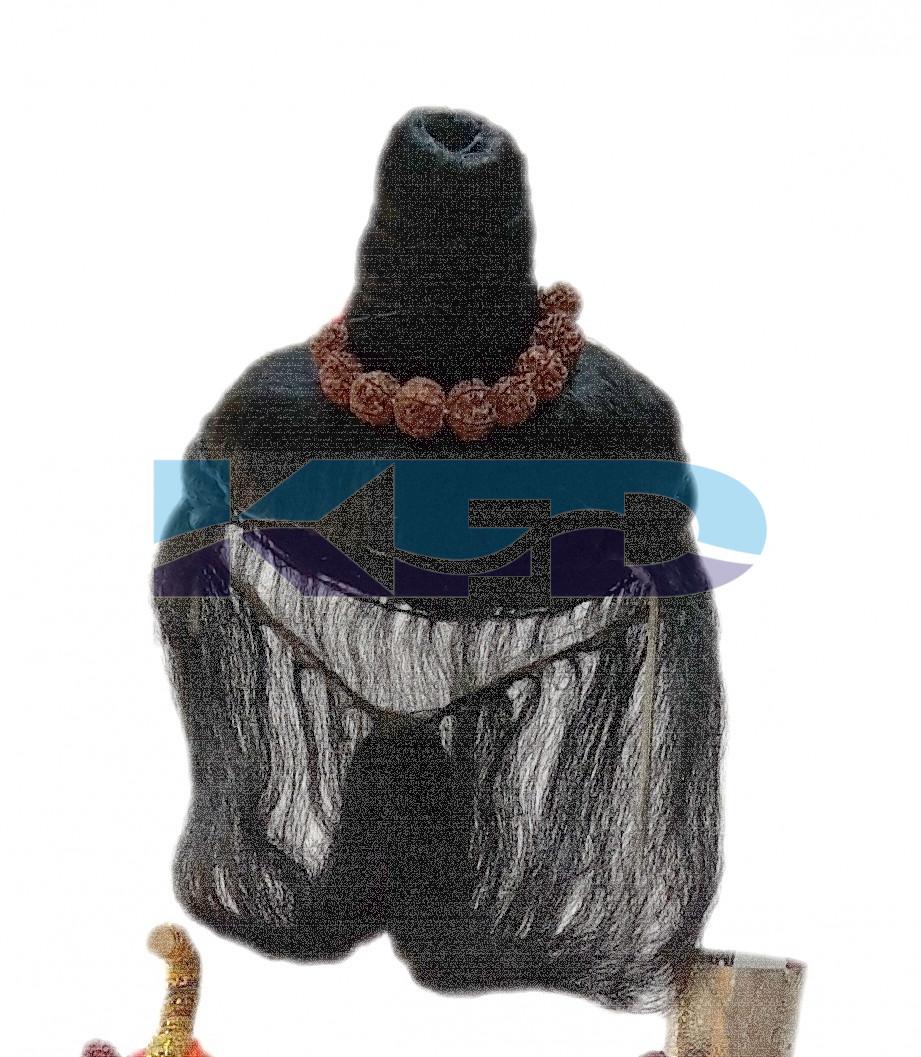 Black Joda wig