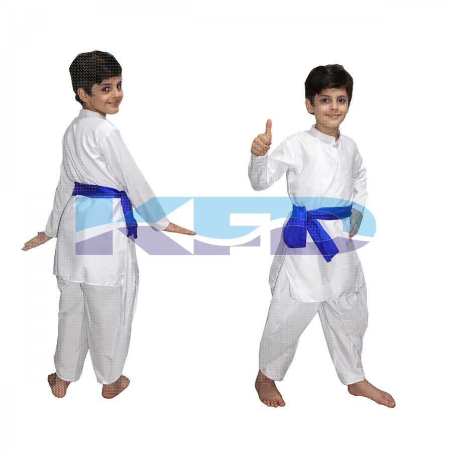 Haryanvi Boy fancy dress for kids,Indian State Traditional Wear Costume for School Annual function/Theme Party/Competition/Stage Shows Dress