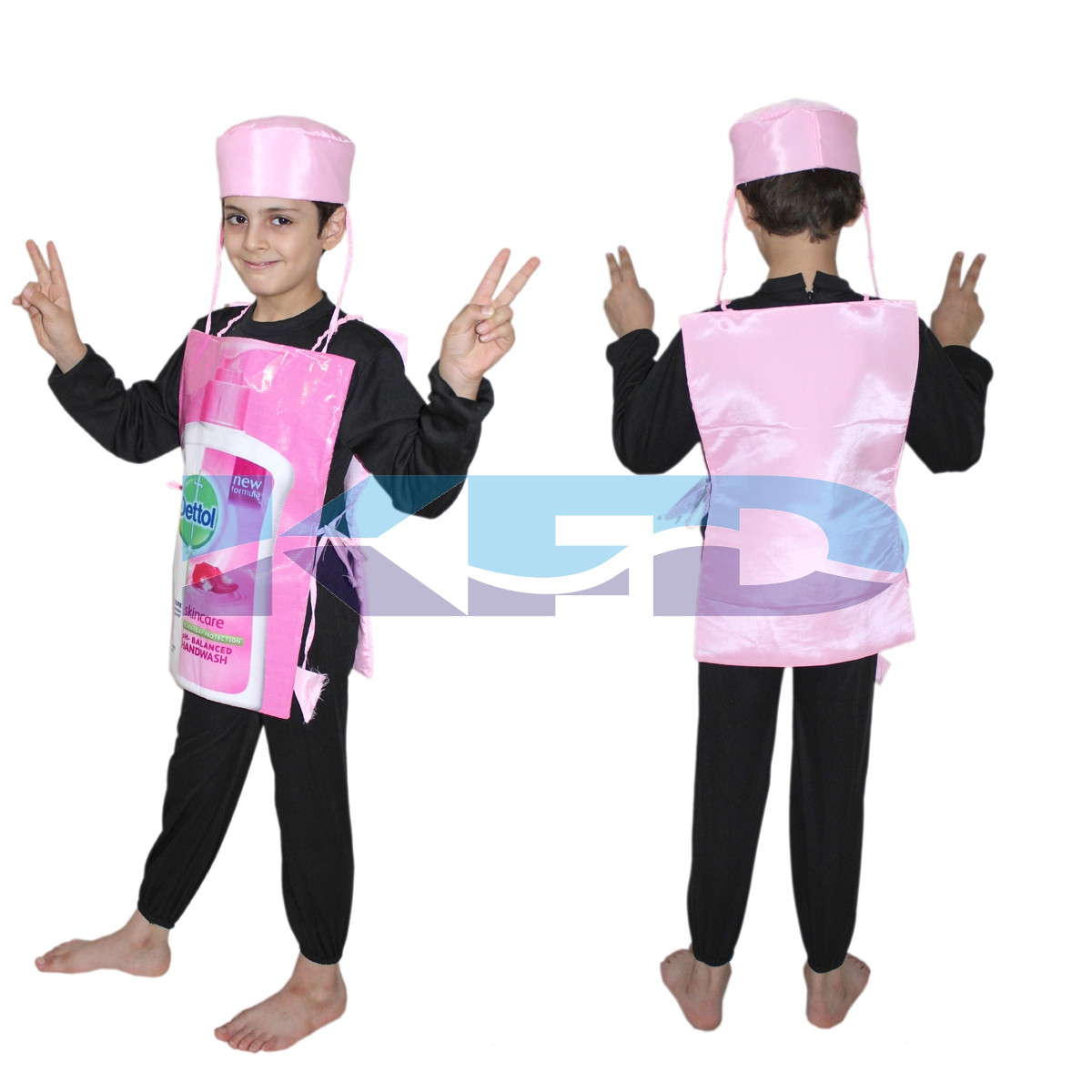 Dettol Handwash Costume,Object Costume for School Annual function/Theme Party/Competition/Stage Shows/Birthday Party Dress
