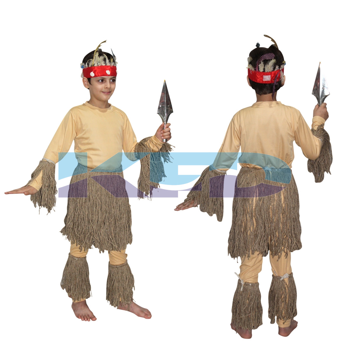 African Costume For Kids,Trible Costume for School Annual function/Theme Party/Competition/Stage Shows Dress