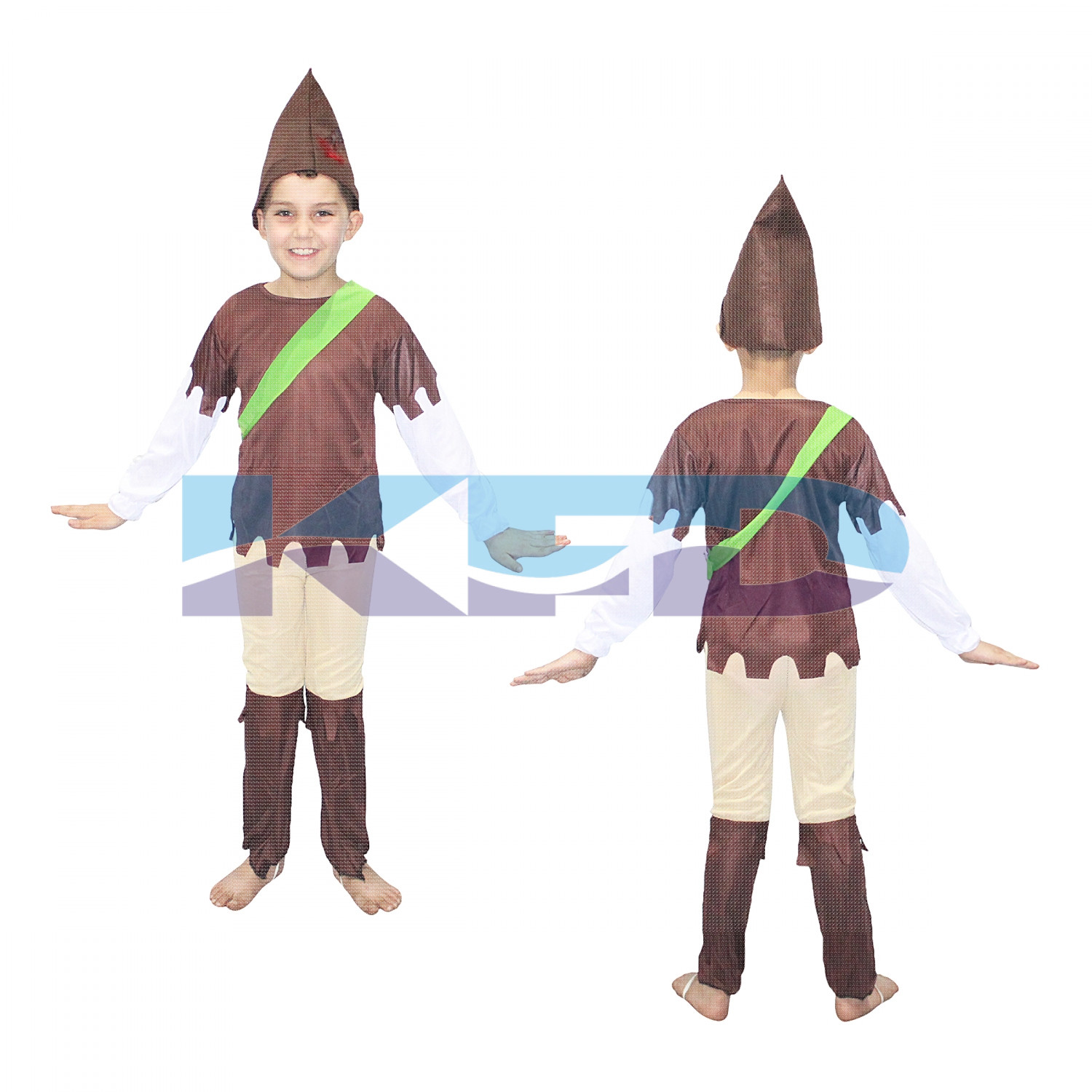 Robin Hood fancy dress for kids,Super Hero Costume for Annual function/Theme Party/Competition/Stage Shows/Birthday Party Dress