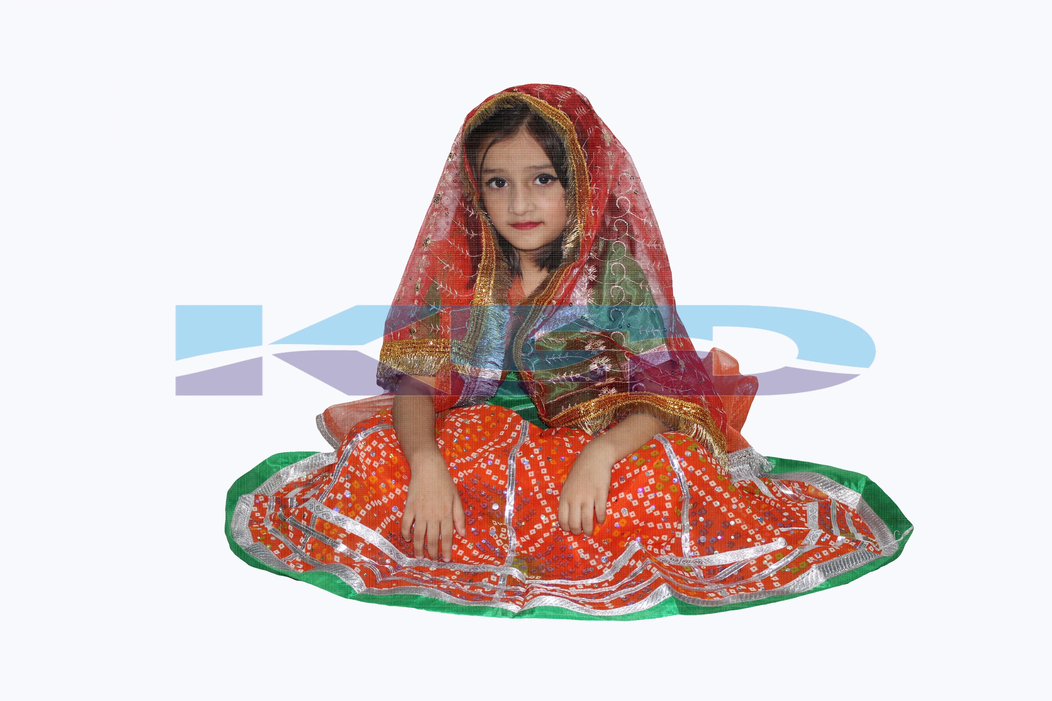 Mata Ki Chunari/Navratri Chunni For Kanya Pujan/Devi Mata Full Jari Chunari/Durga Devi Chunni With Golden Embroidery And Lace,Used For Various Hindu Puja