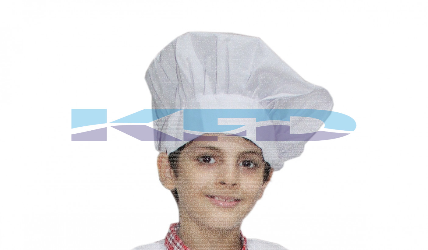 Chef Cap/Hat/Cook cap/restaurant Cap/Handcraft Toque Chef Cap/Chef Hats School Annual function/Theme Party/Competition/Stage Shows/Birthday Party Dress