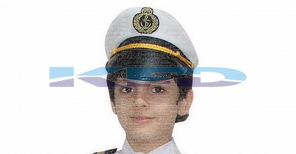 Pilot Cap/Airline Pilot Hat/Aviation Captain Hat/Pilot Cap Accessories/School Annual function/Theme Party/Competition/Stage Shows/Birthday Party Dress