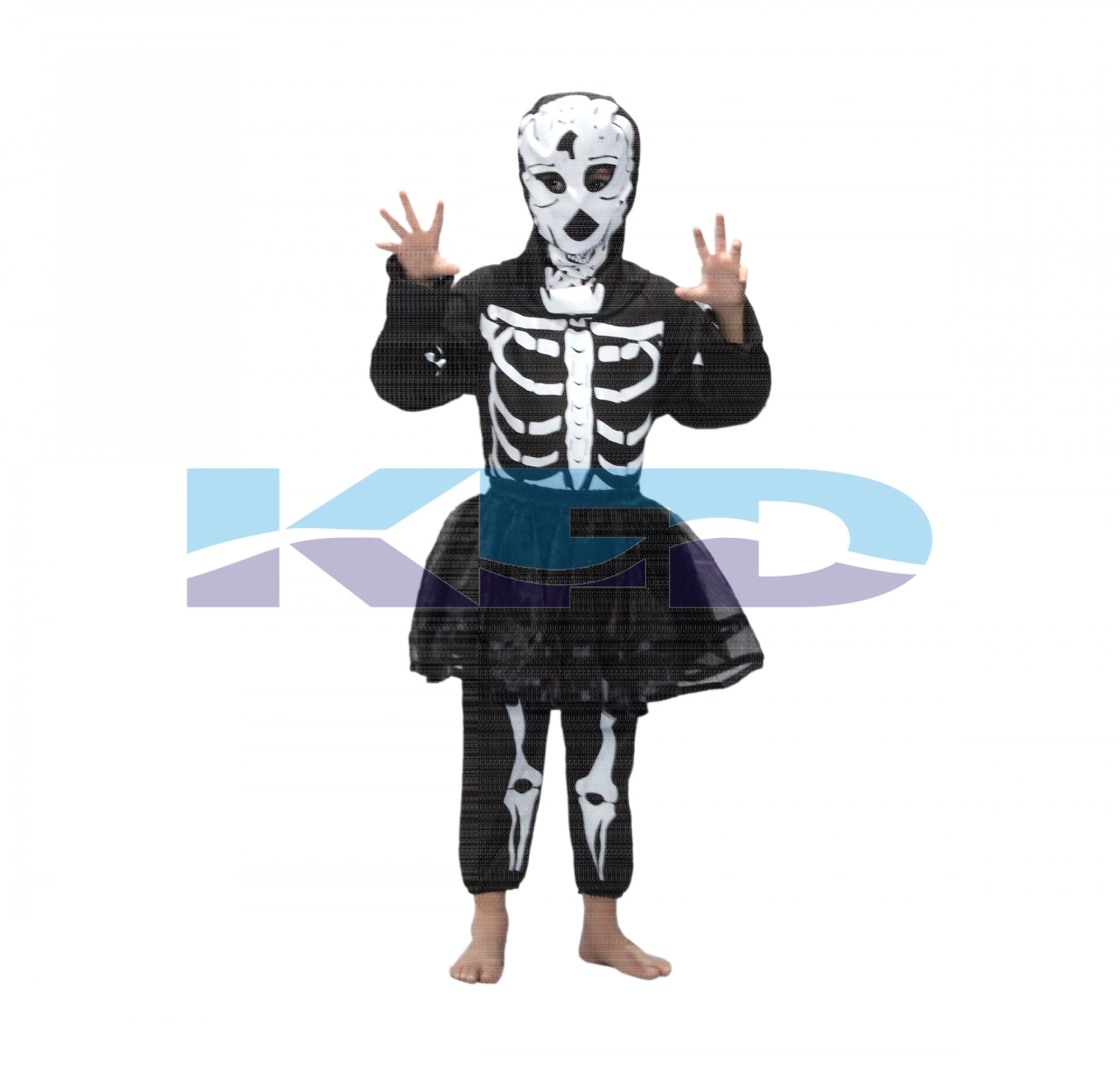 Skeleton Girl Costume,California costume,Halloween/Cosplay/School Annual function/Theme Party/Competition/Stage Shows Dress