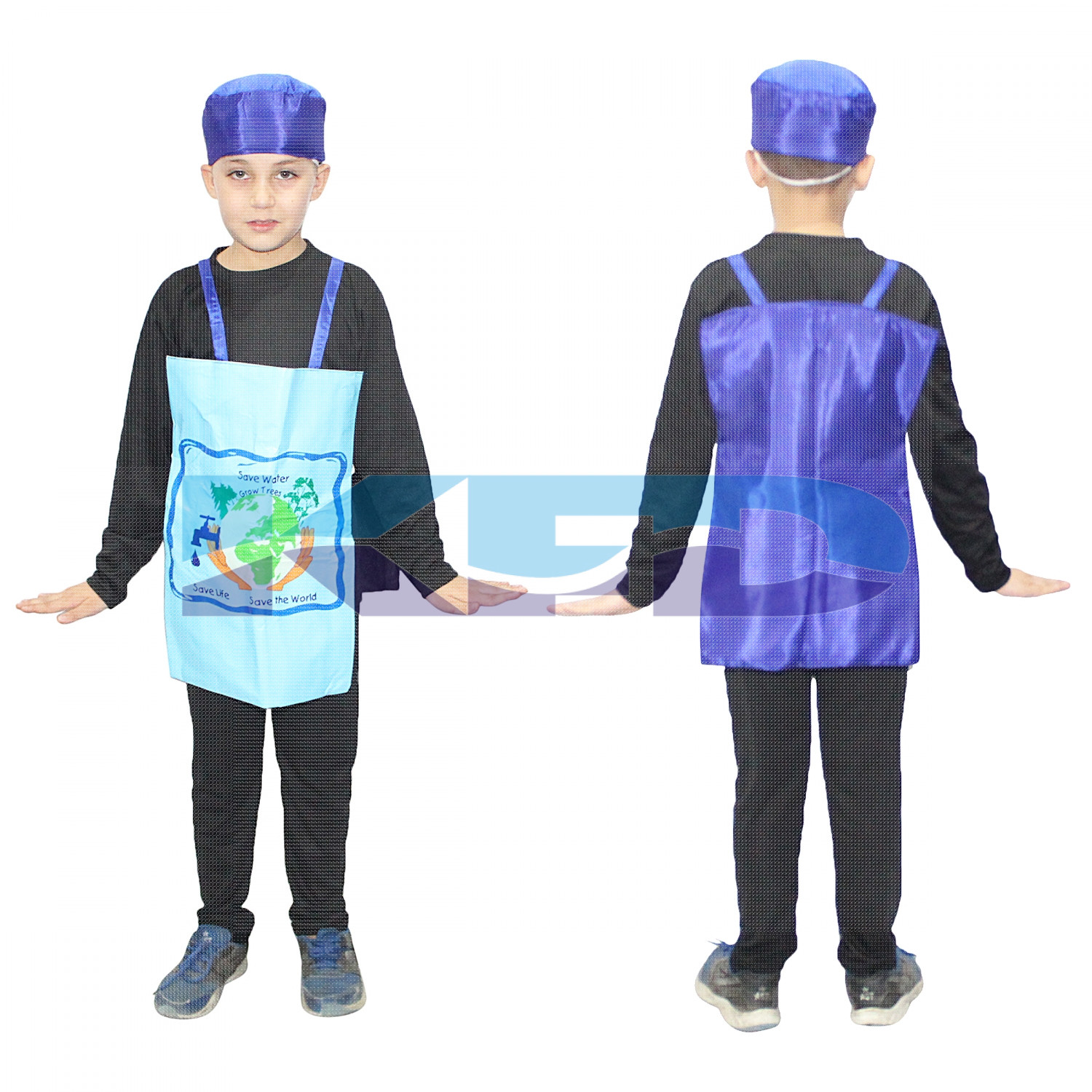 Save The Water Fancy Dress For Kids/Nature Costume For Kids/Water Fancy Dress/For Kids Annual function/Theme Party/Competition/Stage Shows/Birthday Party Dress