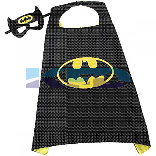 Batman Robe For Kids/California Costume For kids/Superhero Robe For kids/For Kids Annual function/Theme Party/Competition/Stage Shows/Birthday Party Dress