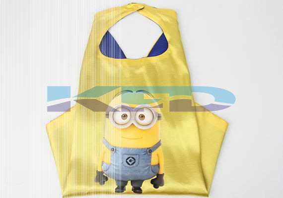 Minion Robe For Kids/California Costume For kids/Superhero Robe For kids/For Kids Annual function/Theme Party/Competition/Stage Shows/Birthday Party Dress